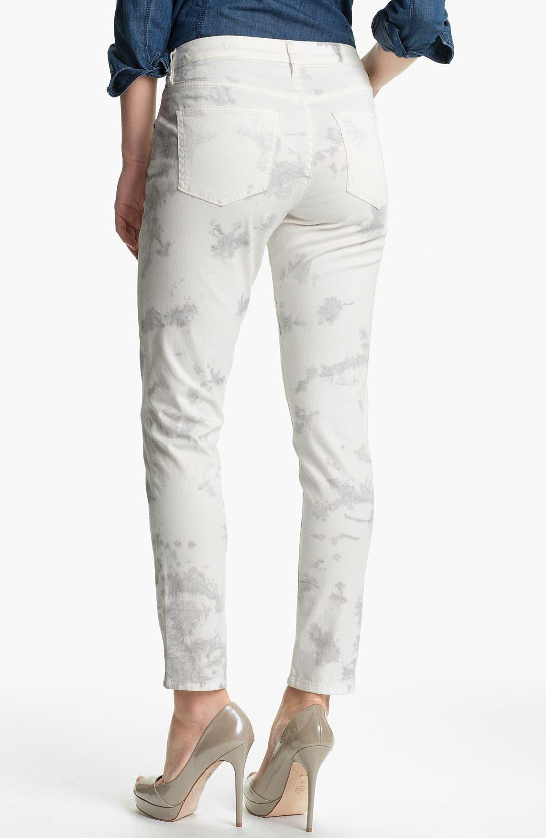 Alternate Image 2  - Jag Jeans 'Chloe - Tie Dye' Skinny Jeans