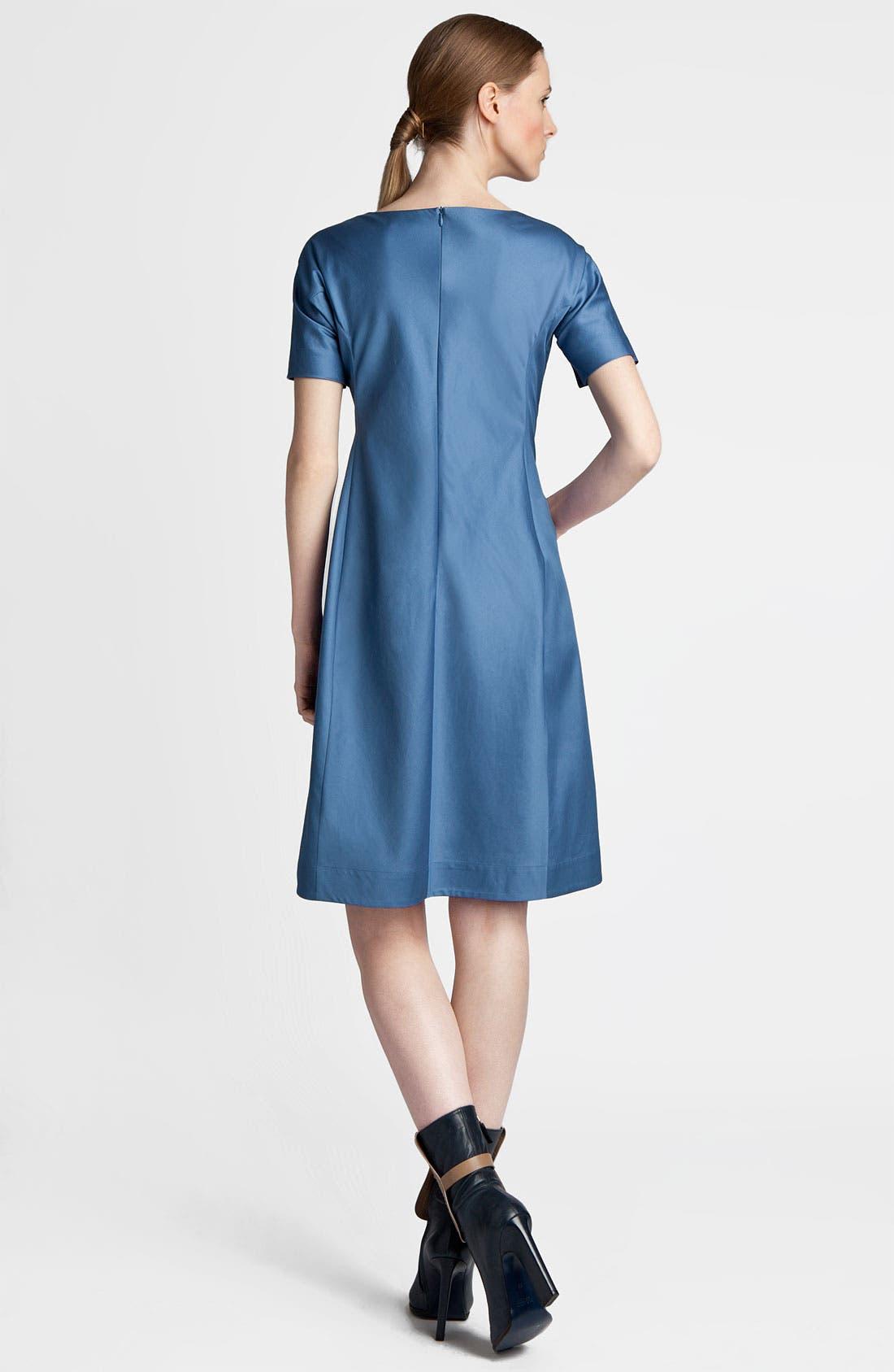 Alternate Image 2  - Jil Sander Compact Satin Dress