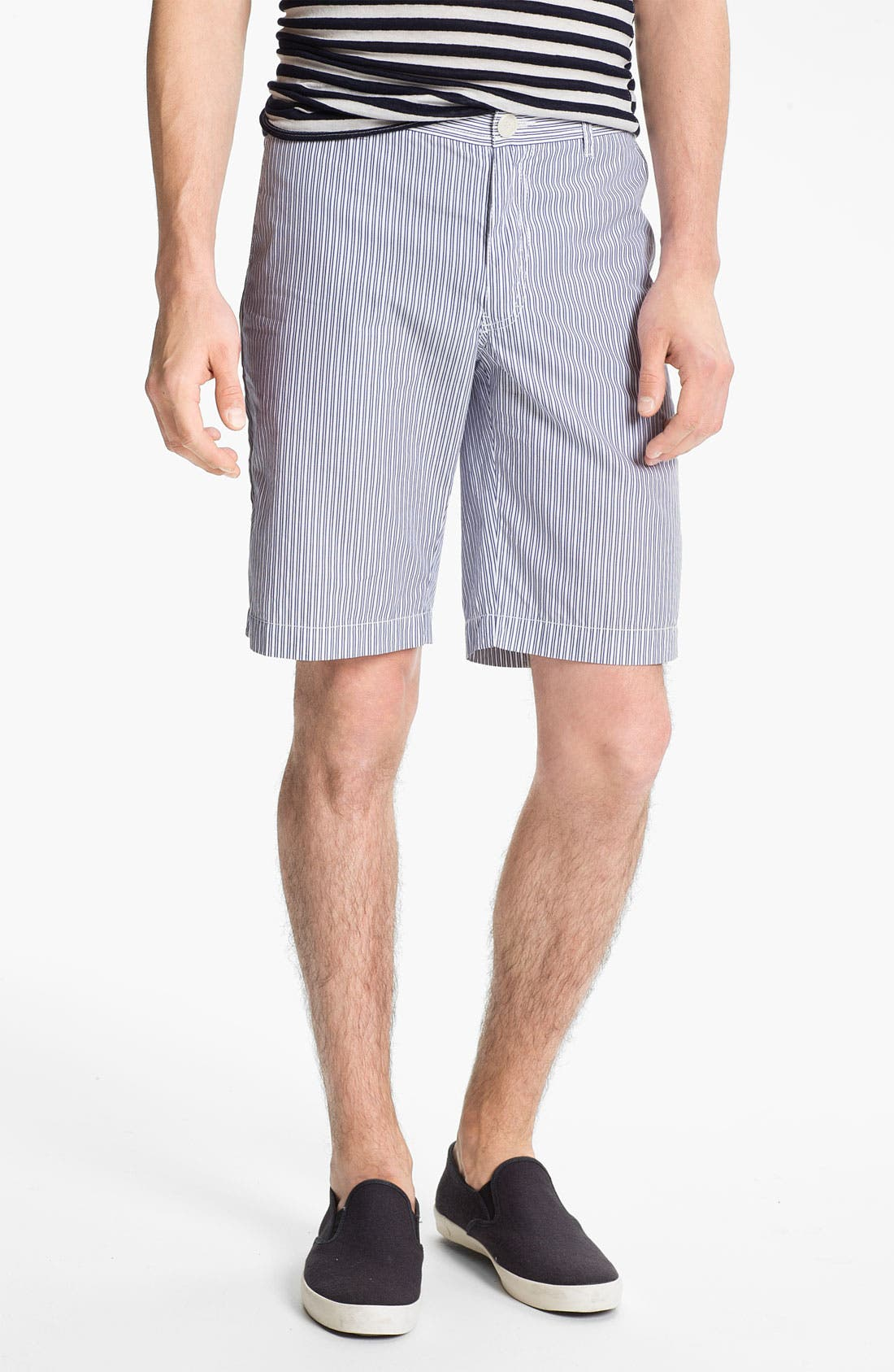 Alternate Image 1 Selected - U Clothing 'Finn Classic' Stripe Shorts