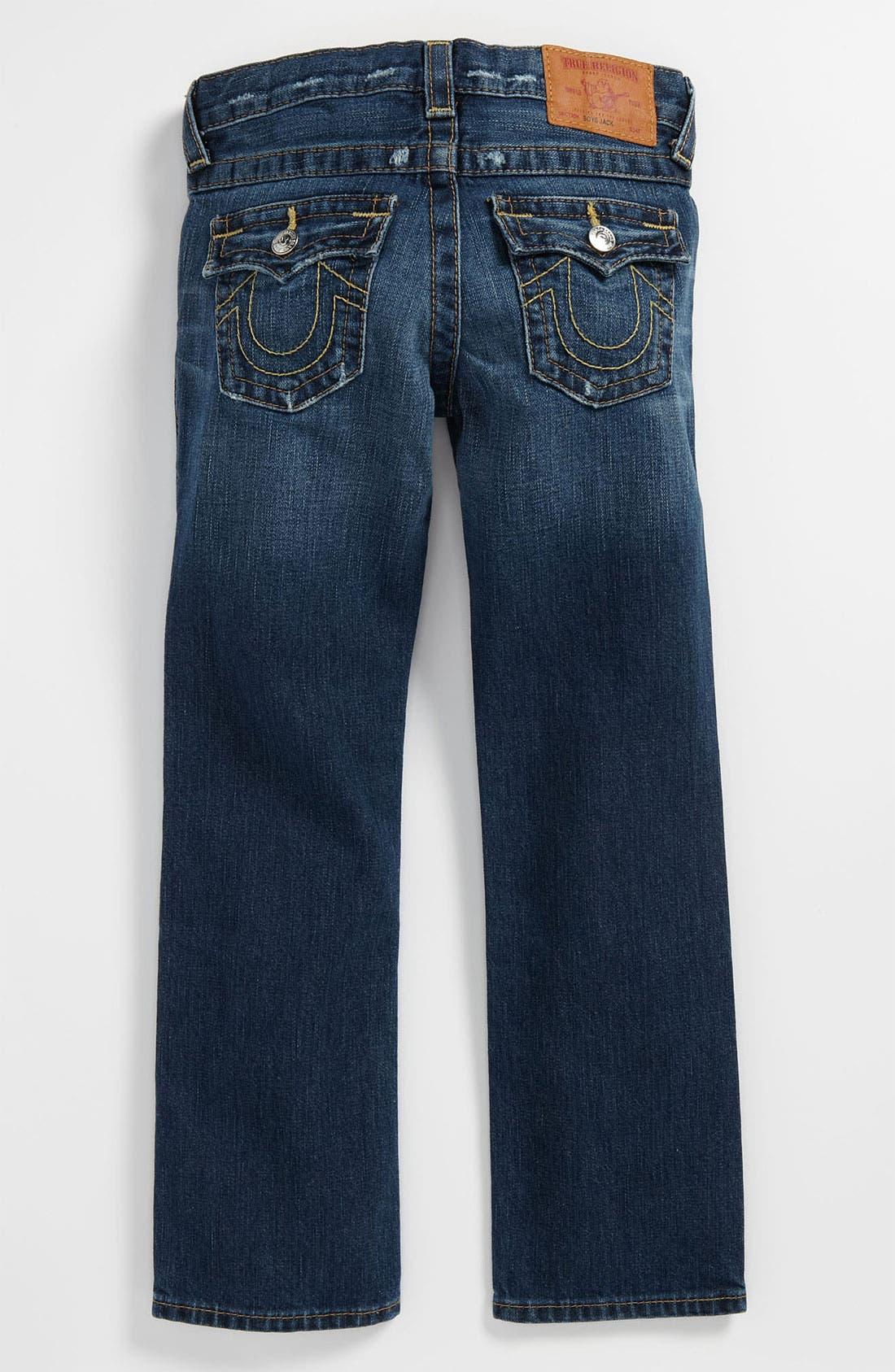 Alternate Image 1 Selected - True Religion Brand Jeans 'Jack Rip & Repair' Jeans (Little Boys)