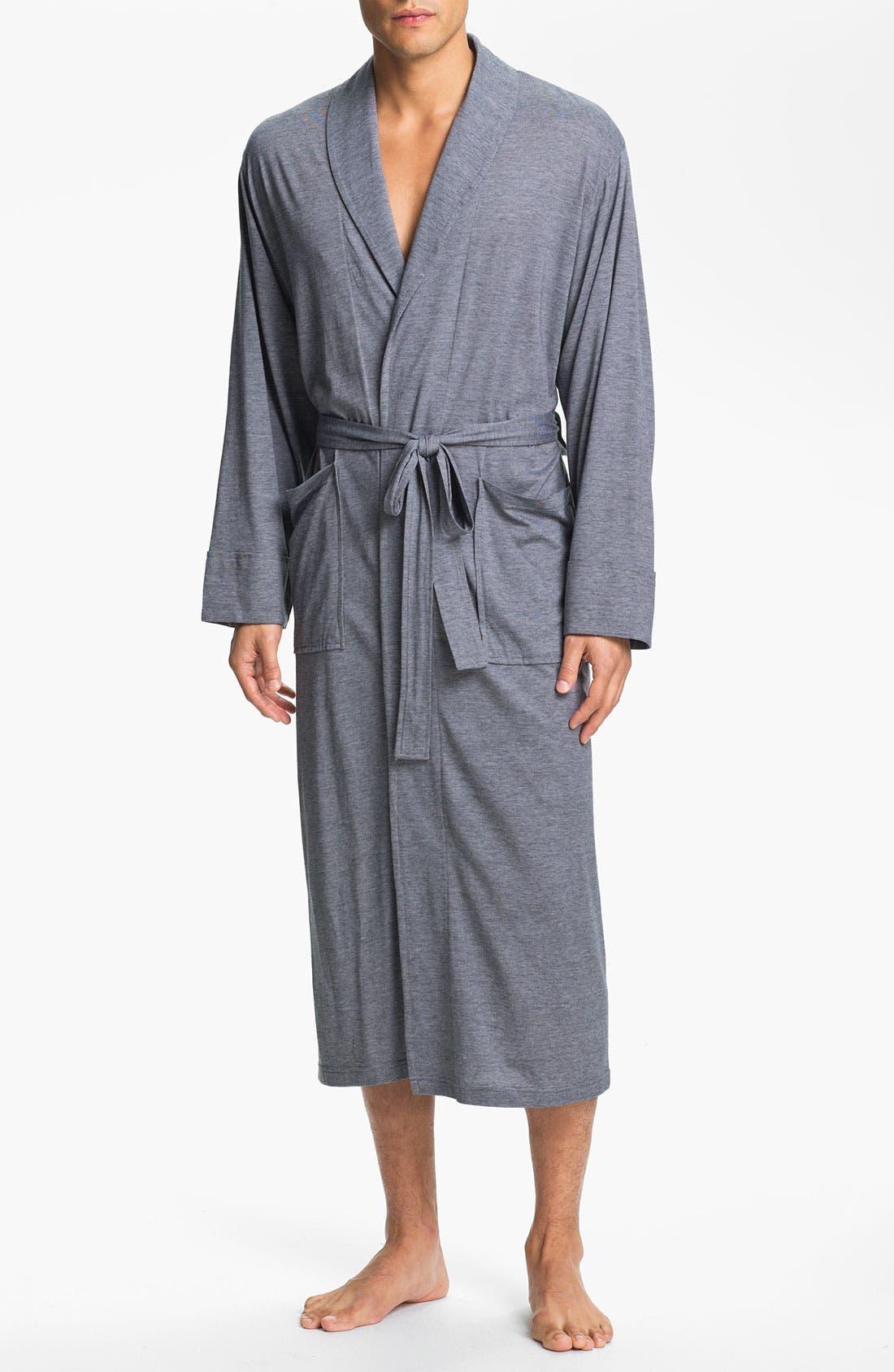 Alternate Image 1 Selected - Daniel Buchler Pima Cotton & Modal Robe