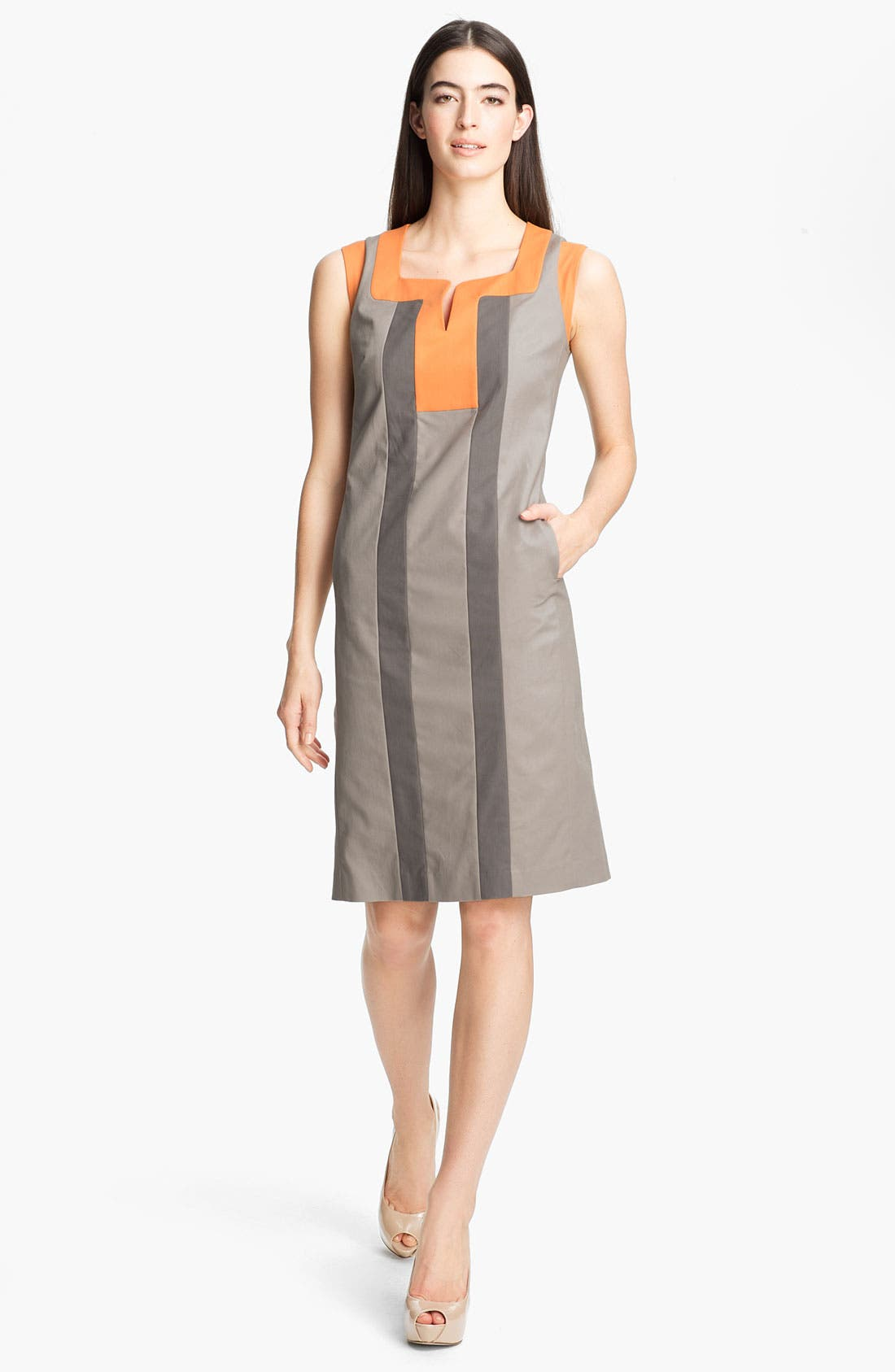 Main Image - Lafayette 148 New York 'Maria - Metropolitan Stretch' Dress
