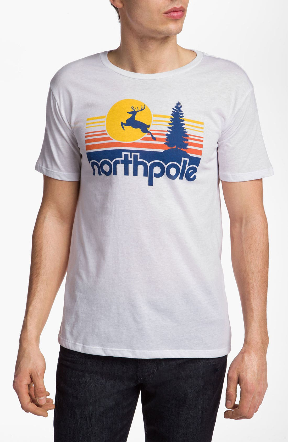 Alternate Image 1 Selected - Headline Shirts 'North Pole Vacation' T-Shirt