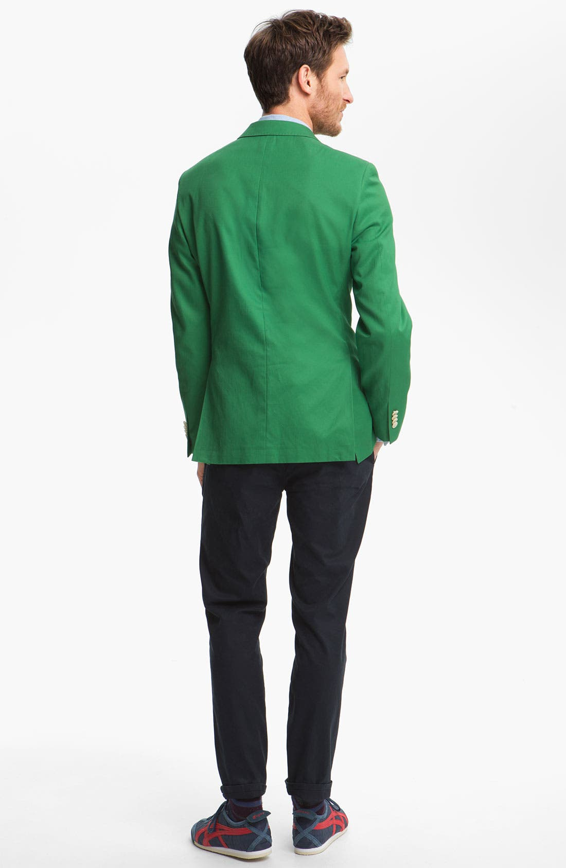 Alternate Image 5  - John W. Nordstrom Cotton Blazer