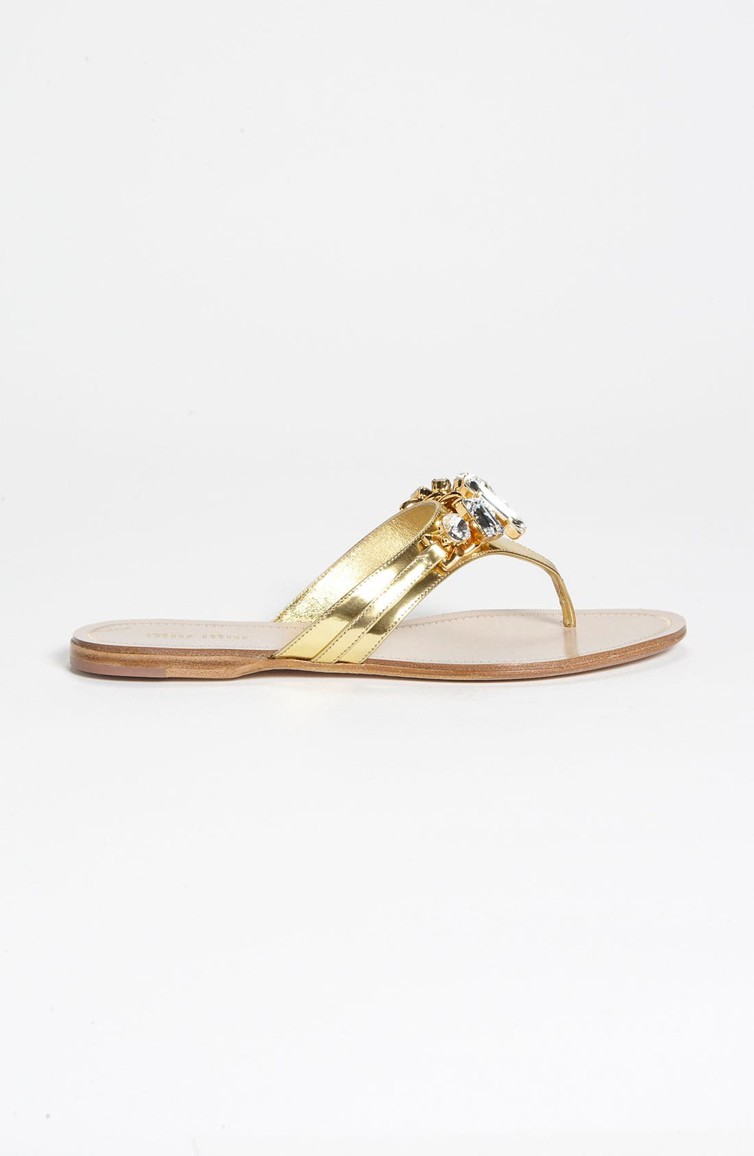 Alternate Image 4  - Miu Miu Jeweled Thong Sandal