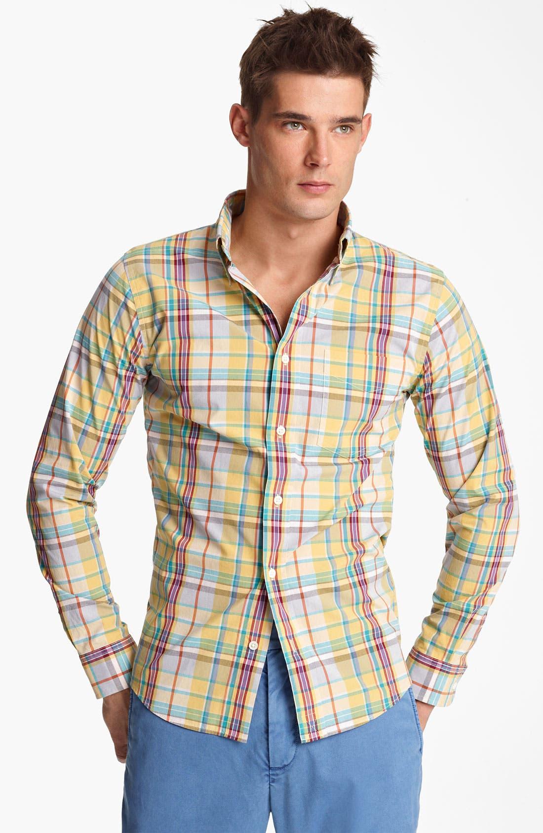 Alternate Image 1 Selected - Jack Spade 'Jasper' Plaid Shirt