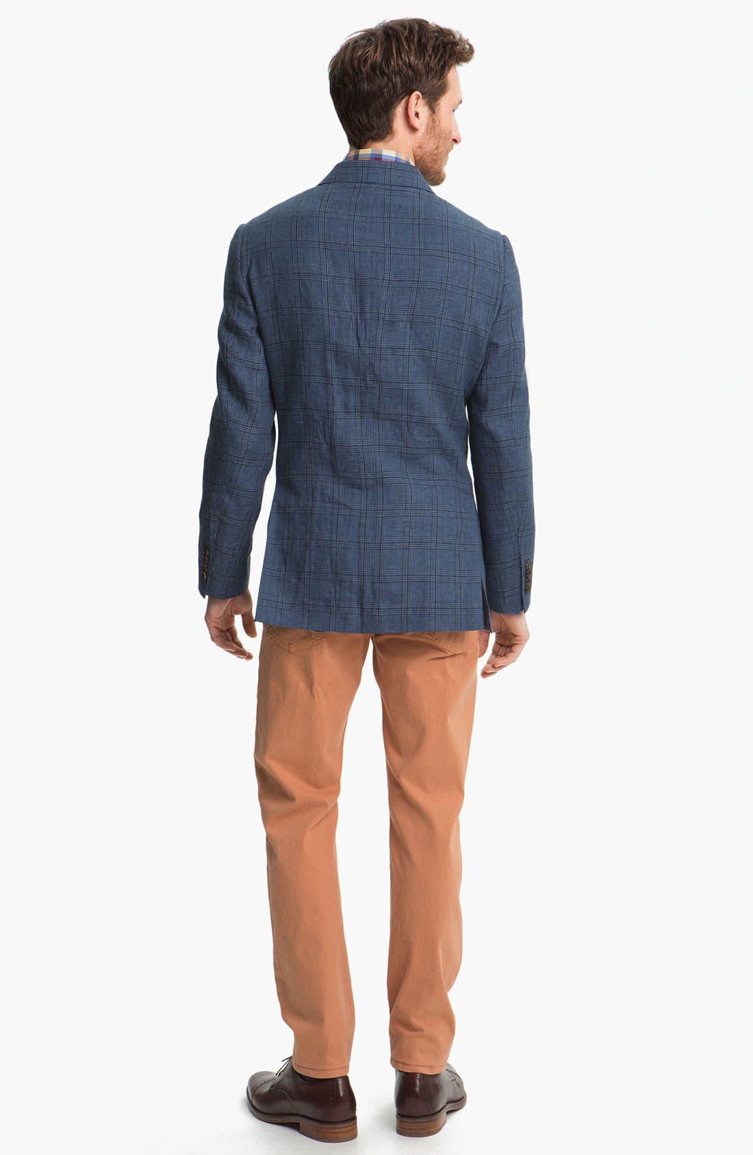 Alternate Image 2  - Robert Talbott Linen Sportcoat