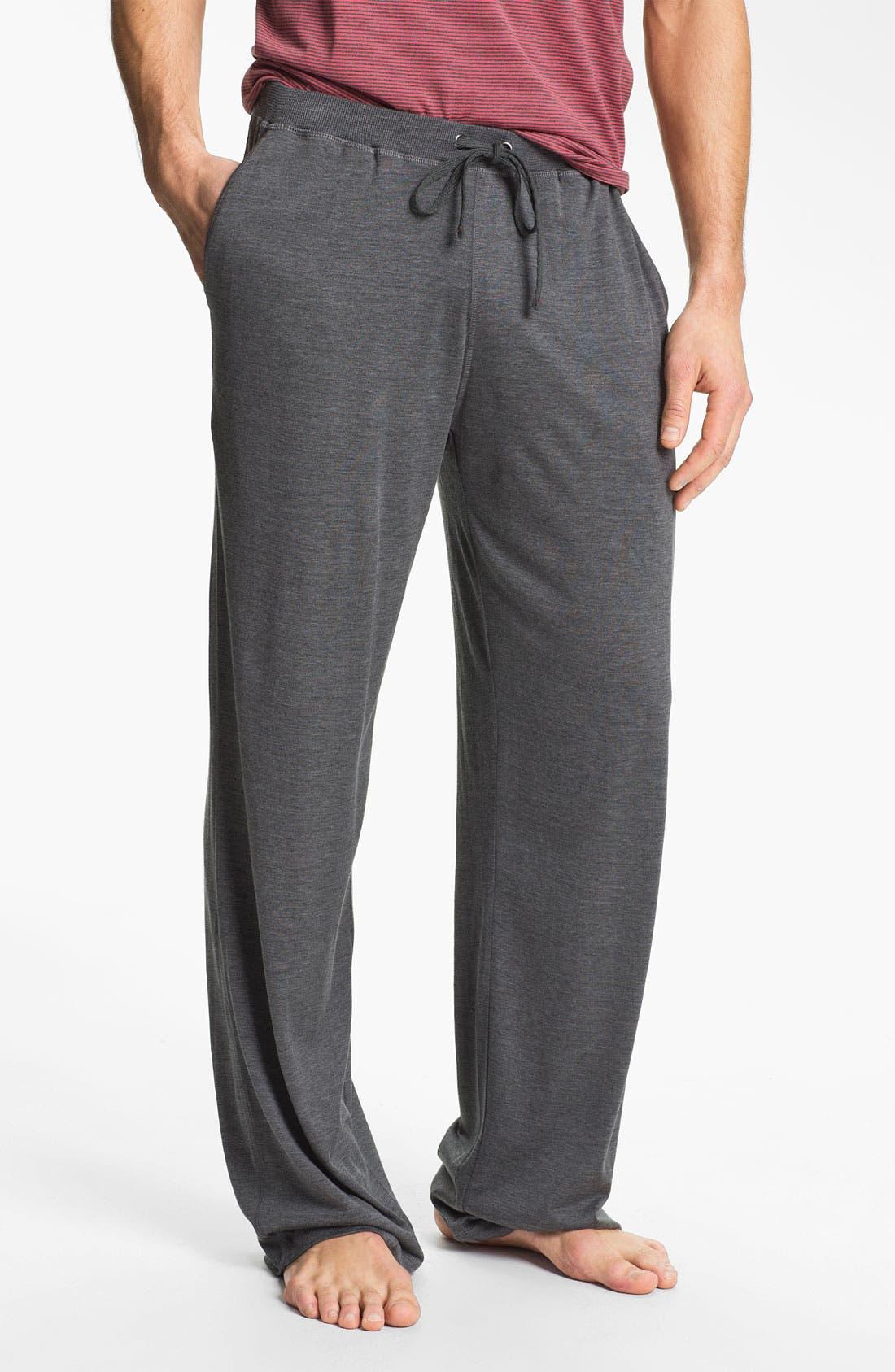 Main Image - Daniel Buchler Silk & Cotton Lounge Pants