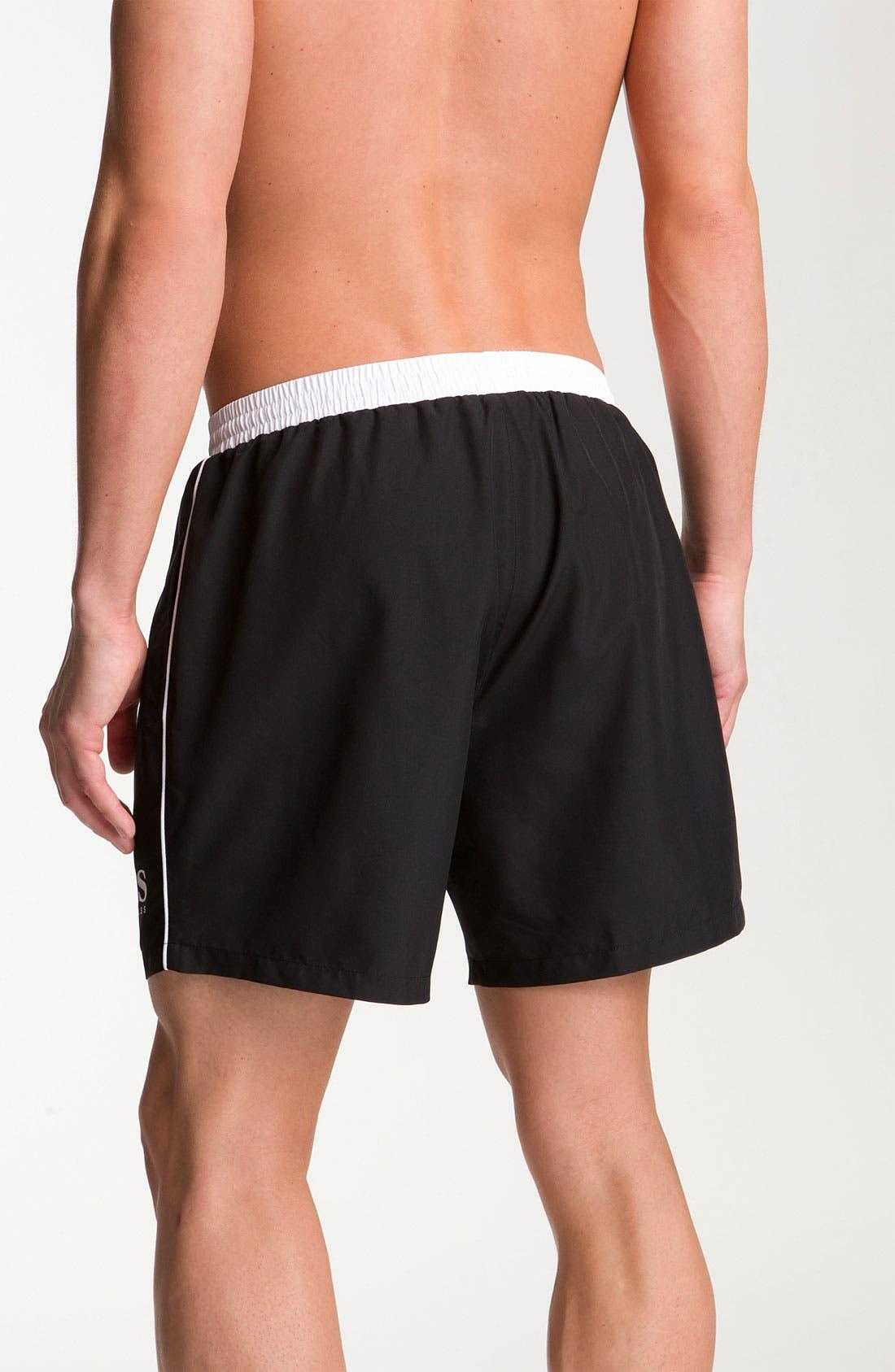 Alternate Image 2  - BOSS HUGO BOSS 'Starfish' Volley Swim Shorts