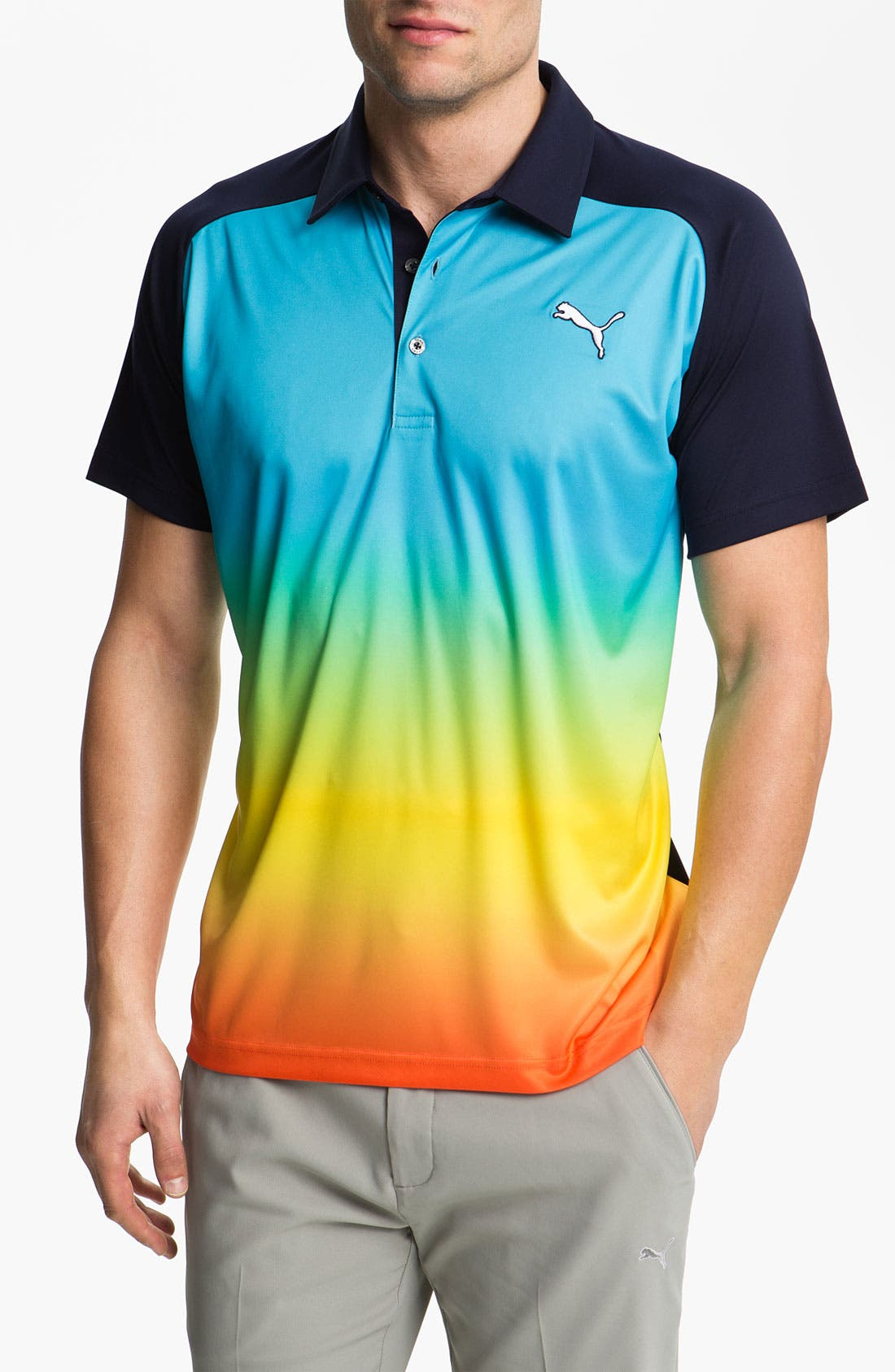 Alternate Image 1 Selected - PUMA GOLF 'Ombré' dryCELL™ Tech Polo