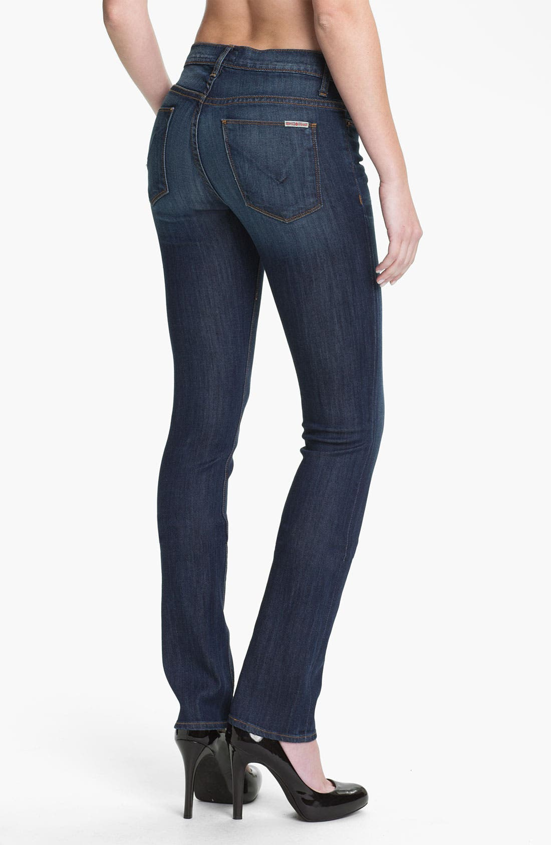 Alternate Image 2  - Hudson Jeans 'Tilda' Straight Leg Stretch Jeans (Bennett)
