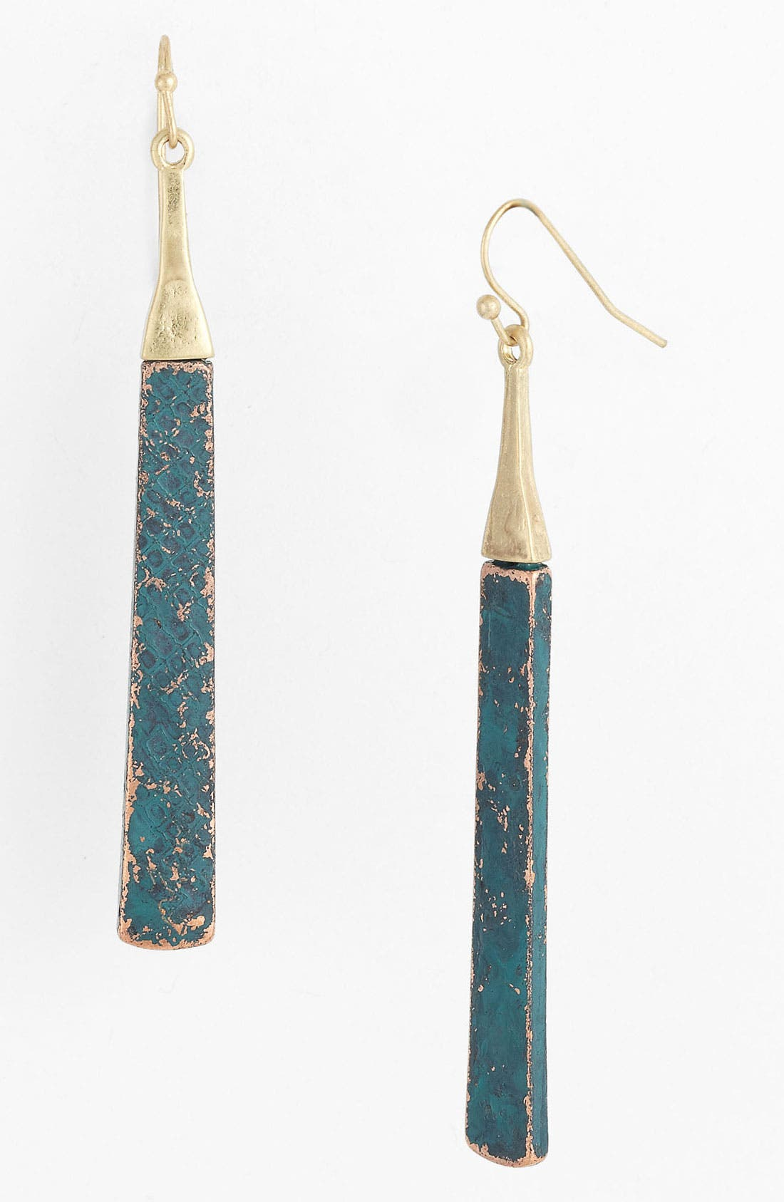 Alternate Image 1 Selected - Panacea Patina Stick Earrings