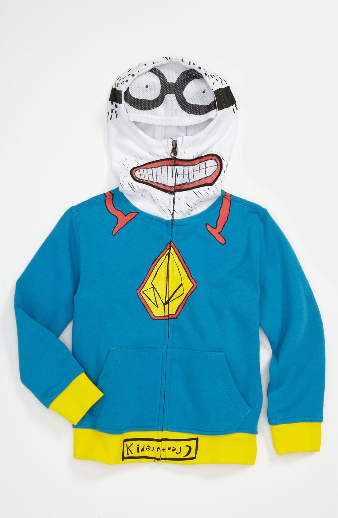 Alternate Image 1 Selected - Volcom 'Super Kreature' Zip Hoodie (Toddler)