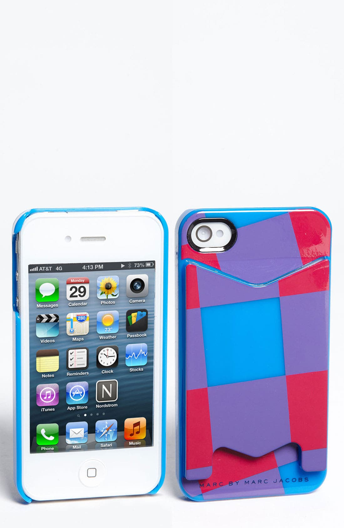 Main Image - MARC BY MARC JACOBS 'Stacey Check' iPhone 5 & 5S Case