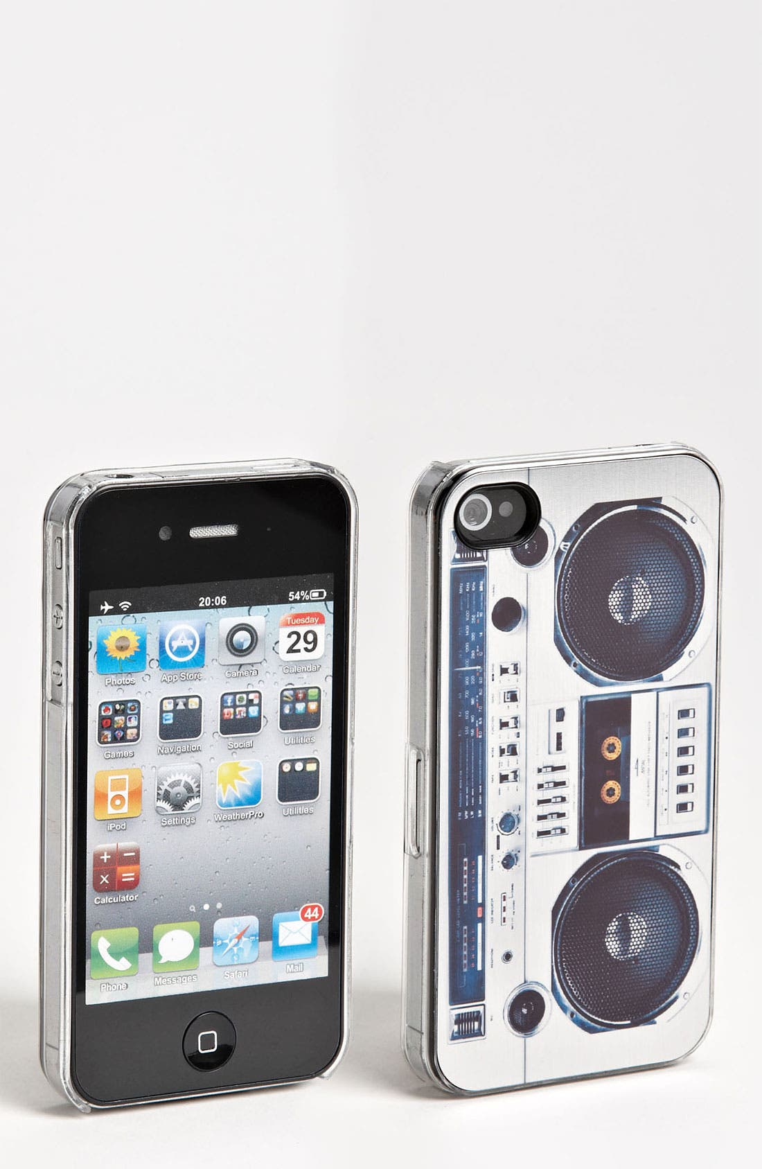 Alternate Image 1 Selected - ZERO GRAVITY 'Boombox' iPhone 4 & 4S Case