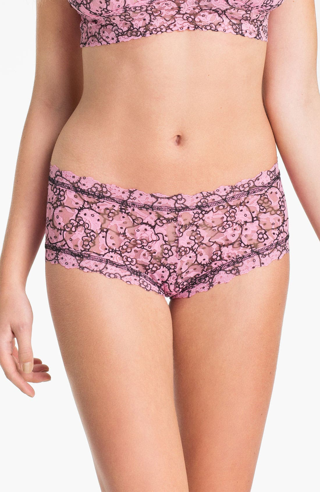 Alternate Image 1 Selected - Hanky Panky 'Hello Kitty®' Boyshorts
