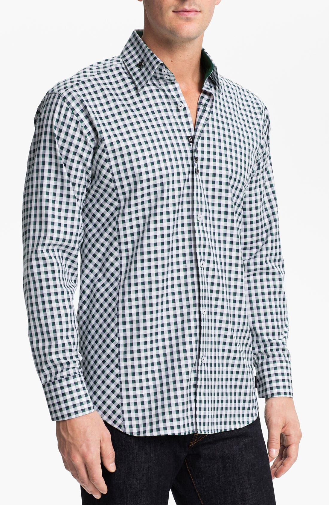 Alternate Image 1 Selected - Bogosse 'Clau 52' Trim Fit Sport Shirt