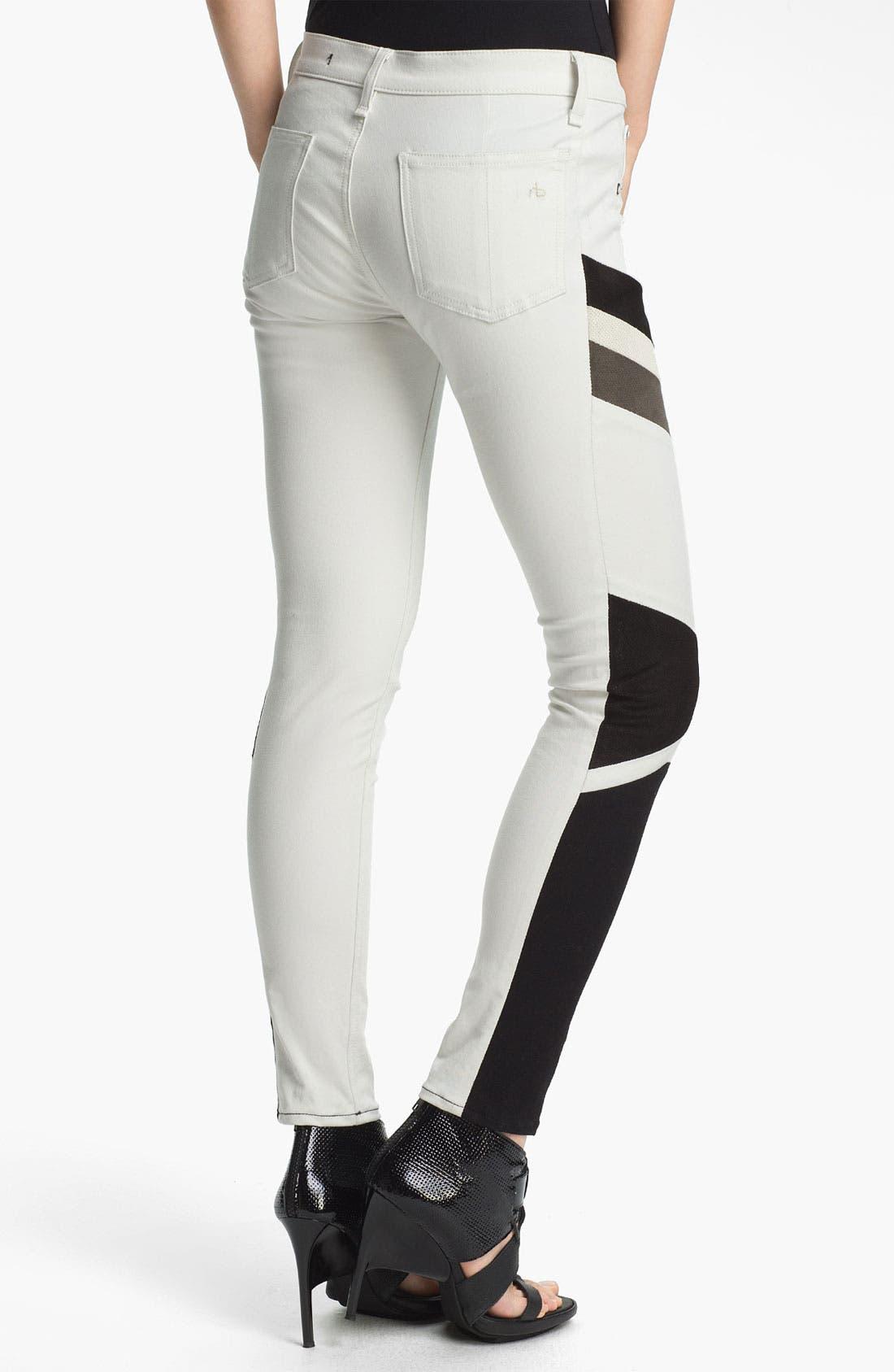 Alternate Image 2  - rag & bone/JEAN 'Halifox' Leggings