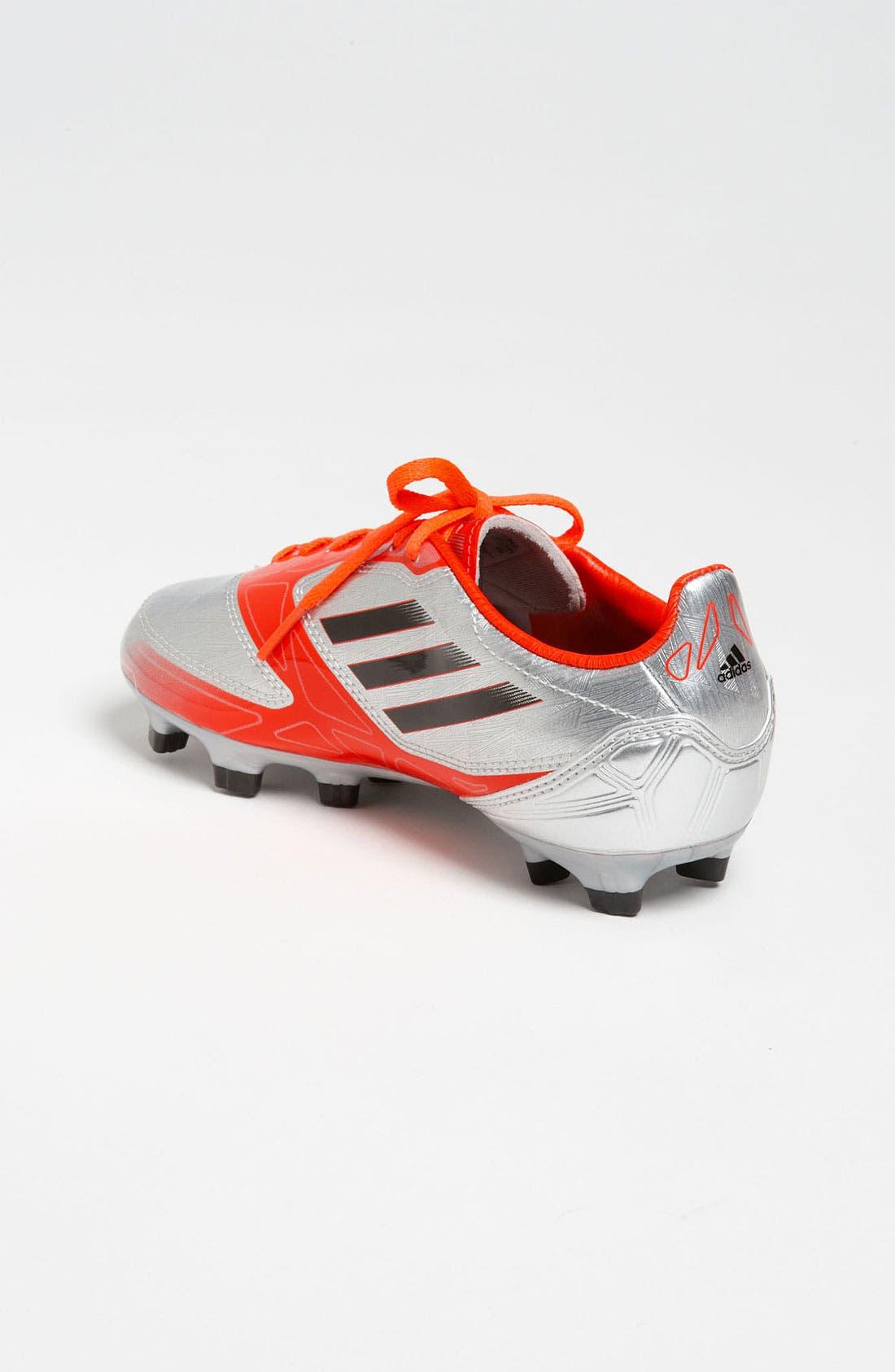 Alternate Image 2  - adidas 'TRX FG' Soccer Cleats (Toddler, Little Kid & Big Kid)
