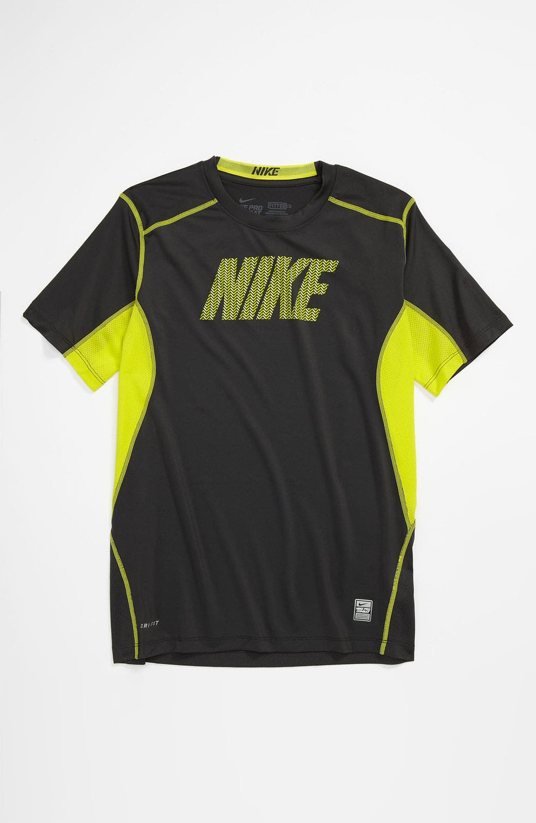 Alternate Image 1 Selected - Nike 'Core' Fitted T-Shirt (Big Boys)