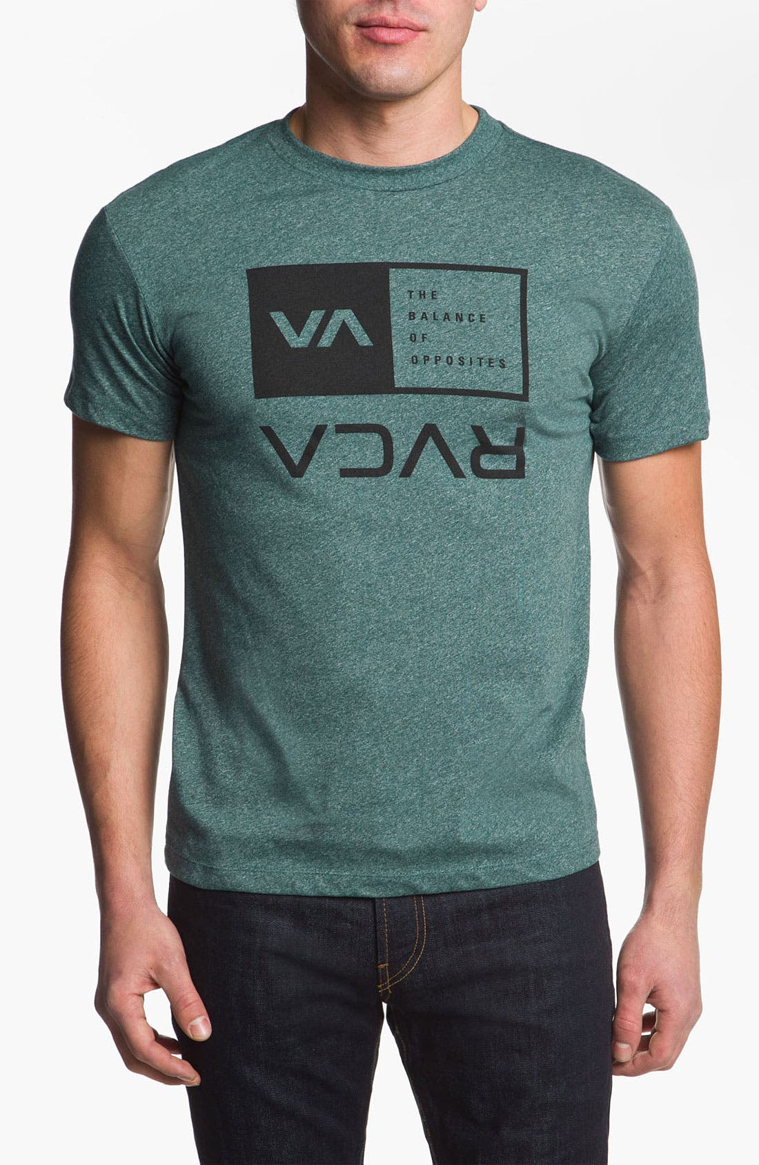 Alternate Image 1 Selected - RVCA 'Flipped Box' Graphic T-Shirt