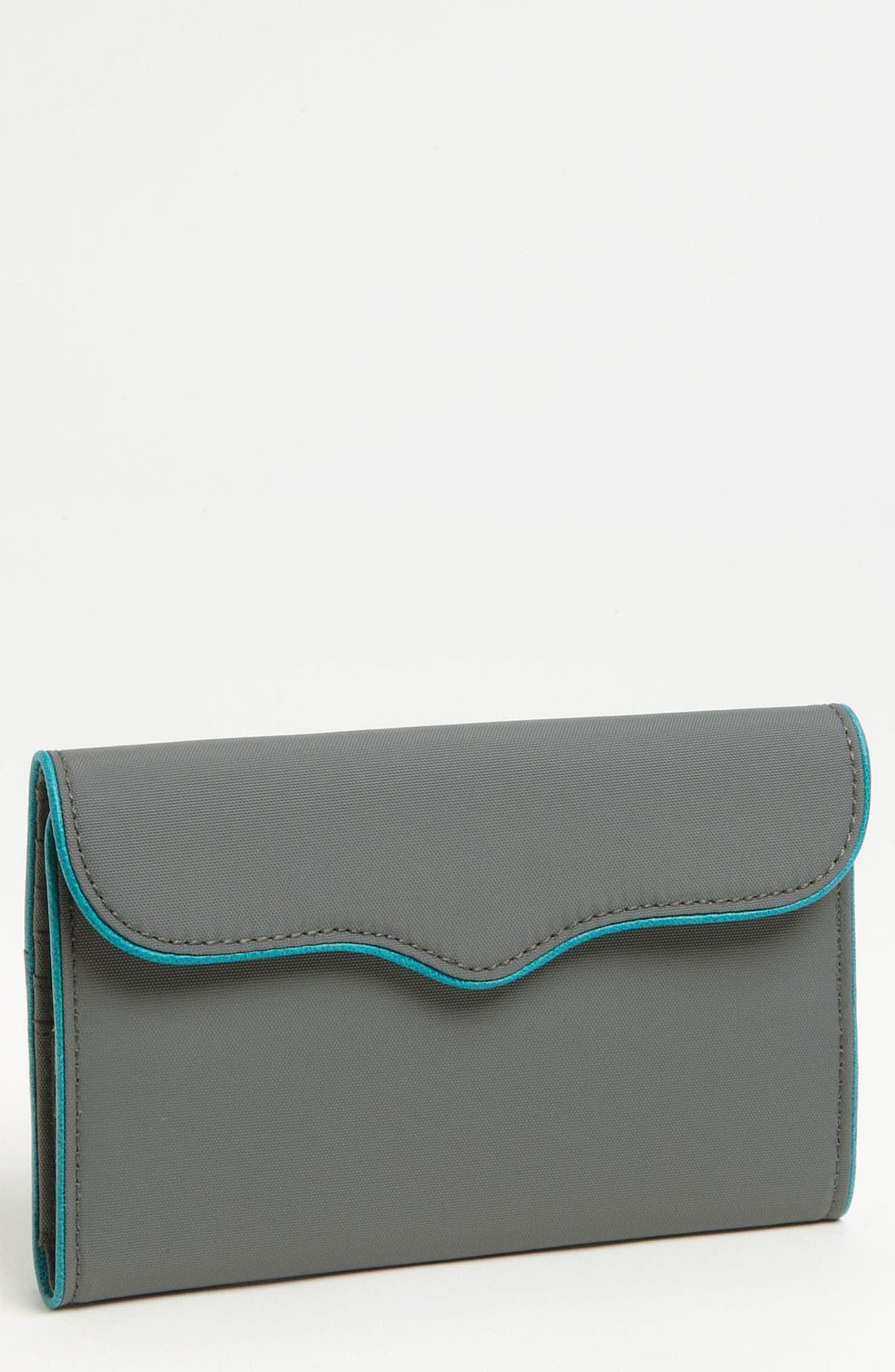 Alternate Image 1 Selected - Rebecca Minkoff Coated Nylon Passport Wallet