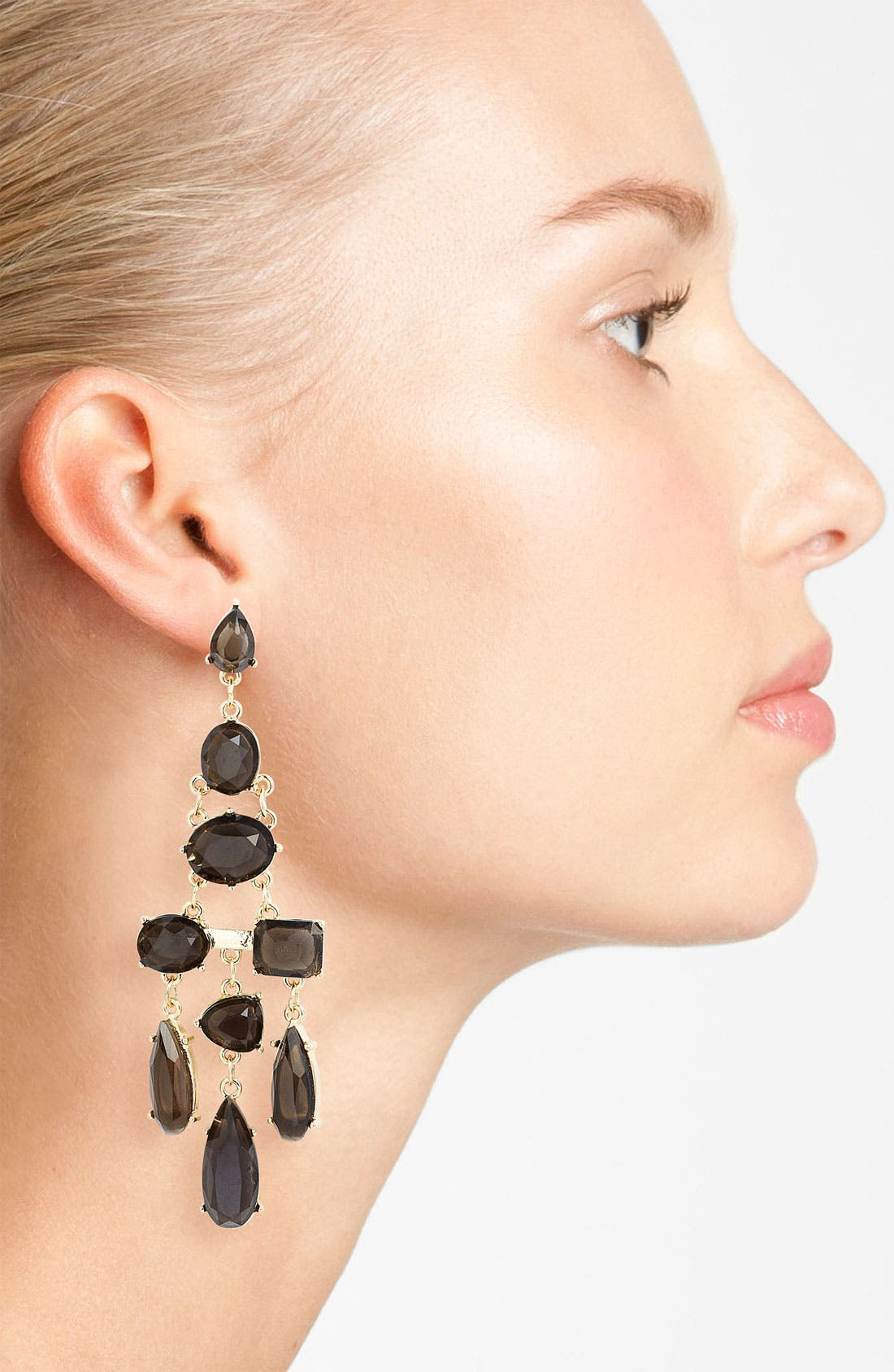 Alternate Image 2  - Panacea Chandelier Earrings