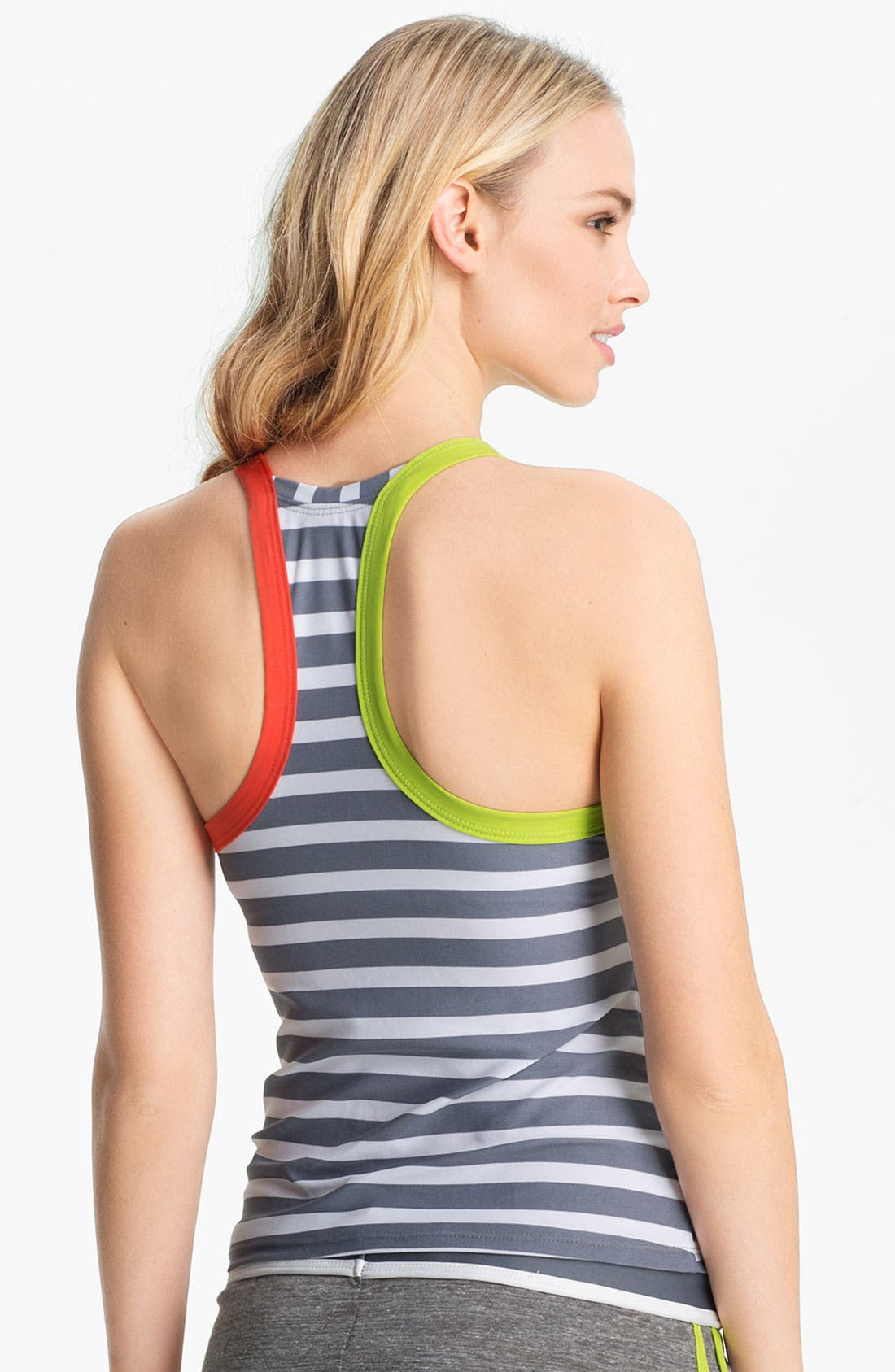 Alternate Image 3  - BCA 'Rugby' Racerback Tankini Top