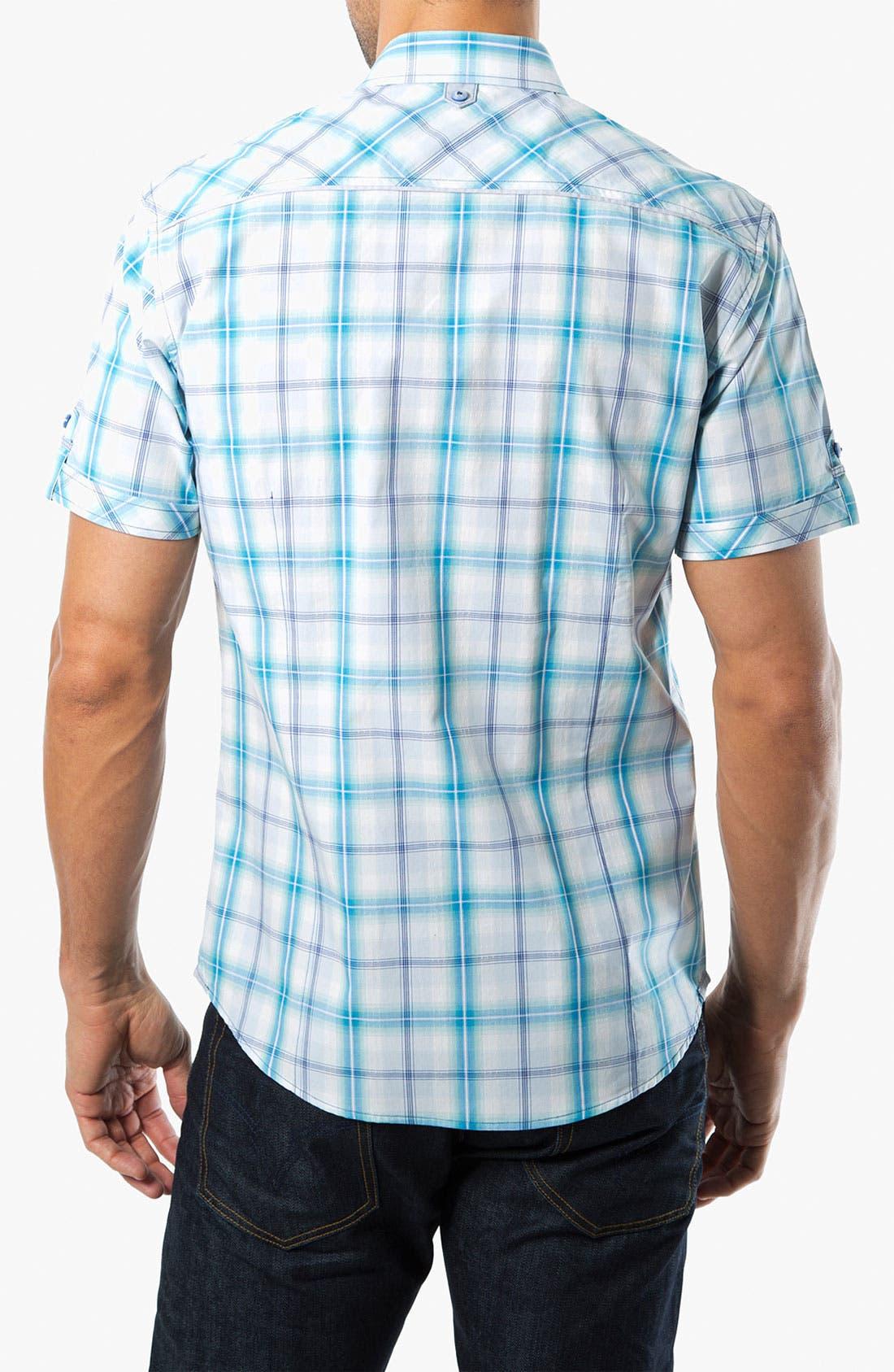 Alternate Image 2  - 7 Diamonds 'Ocean Sky' Woven Sport Shirt