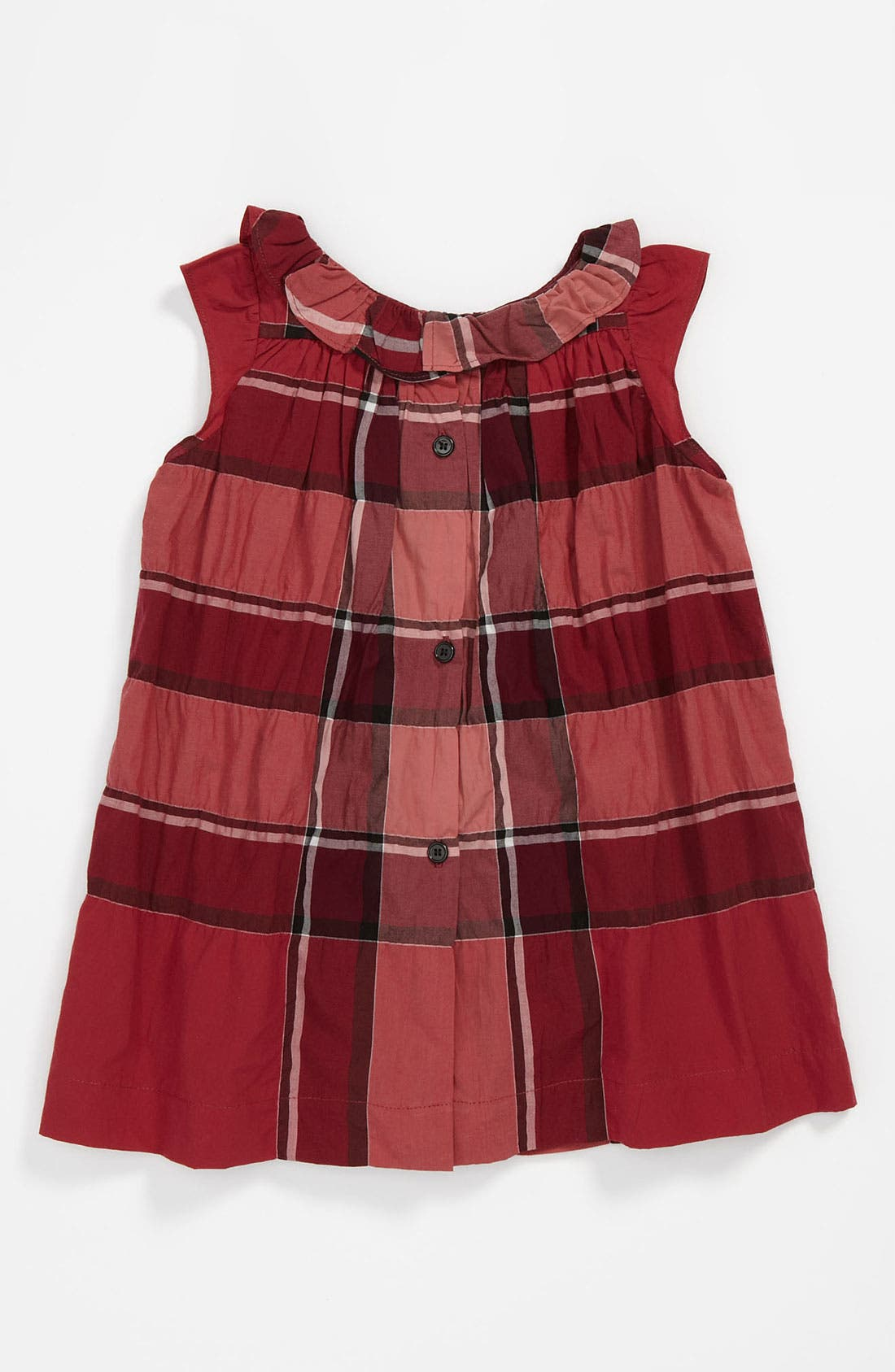 Alternate Image 2  - Burberry 'Olly' Check Print Dress (Baby)