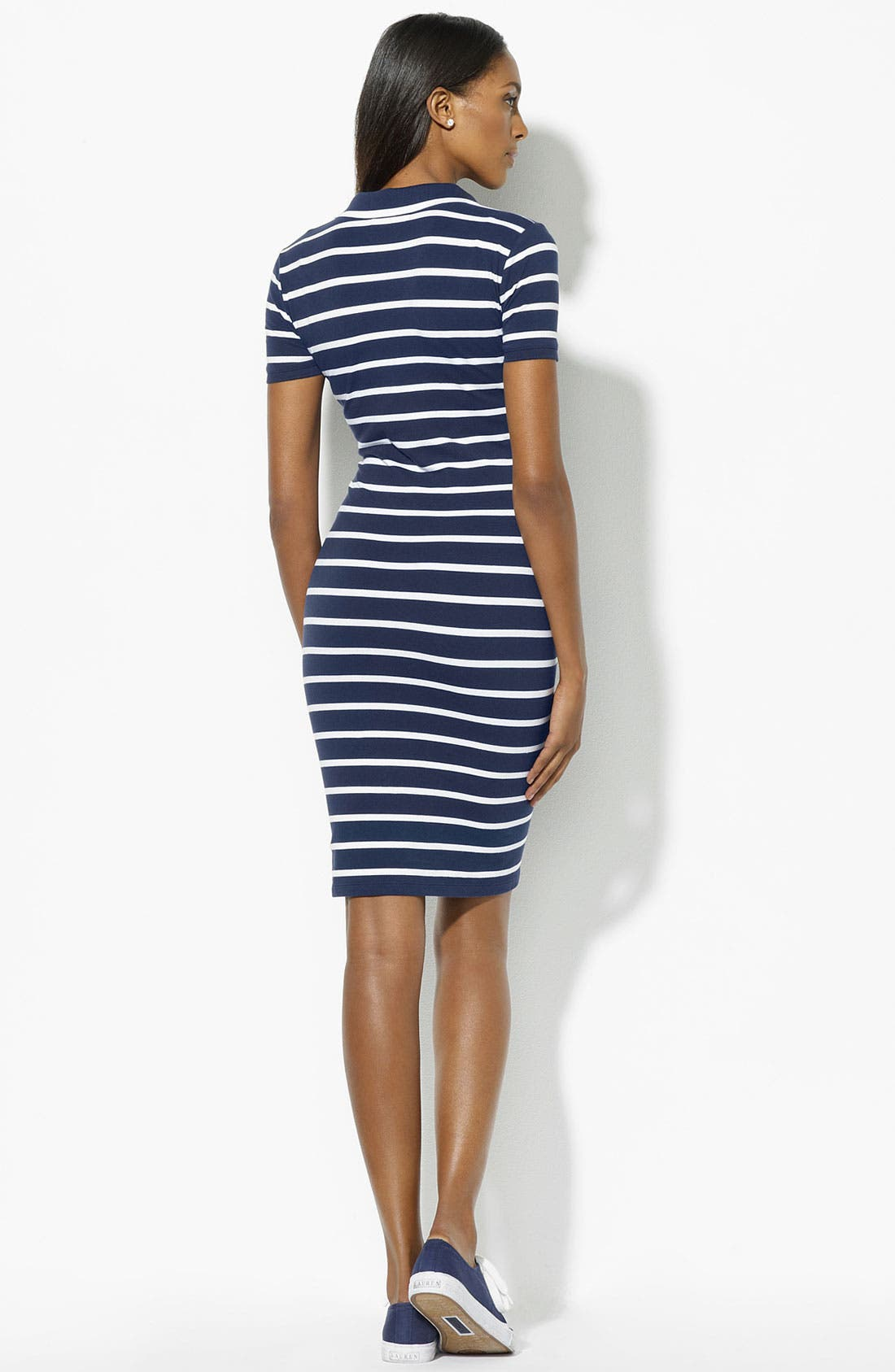 Alternate Image 2  - Lauren Ralph Lauren Polo Dress (Petite) (Online Exclusive)