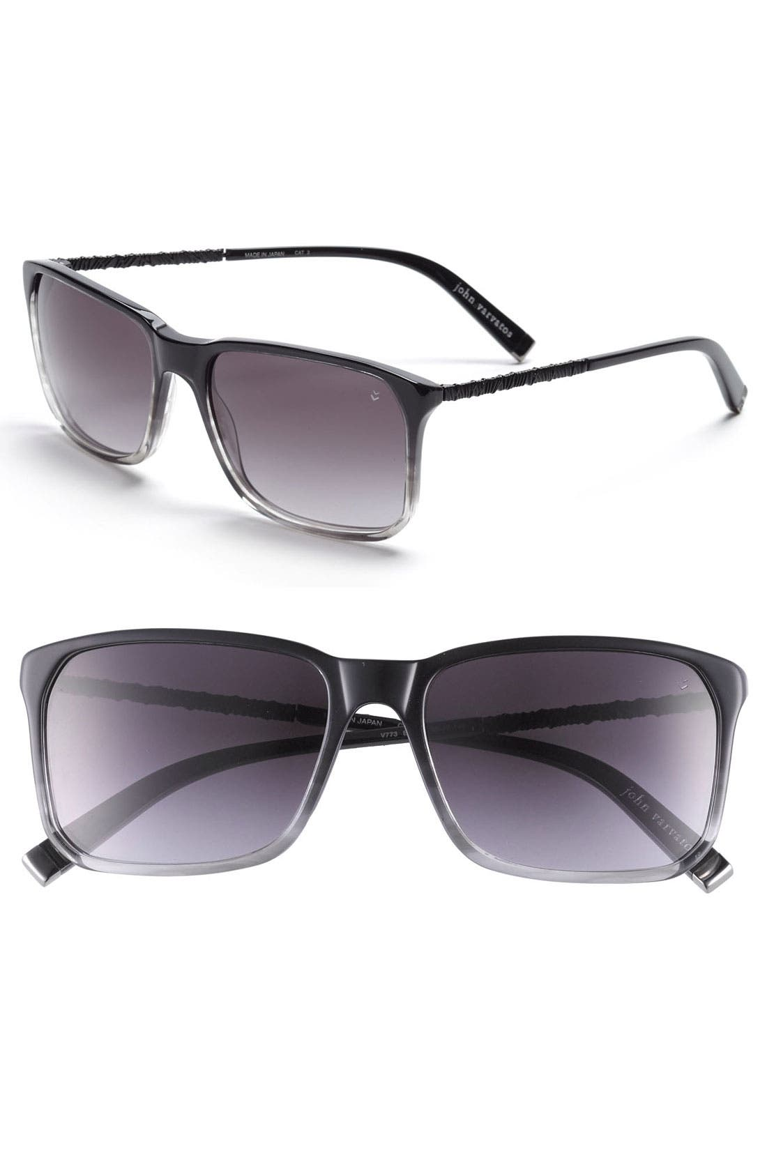 Main Image - John Varvatos Collection 56mm Sunglasses