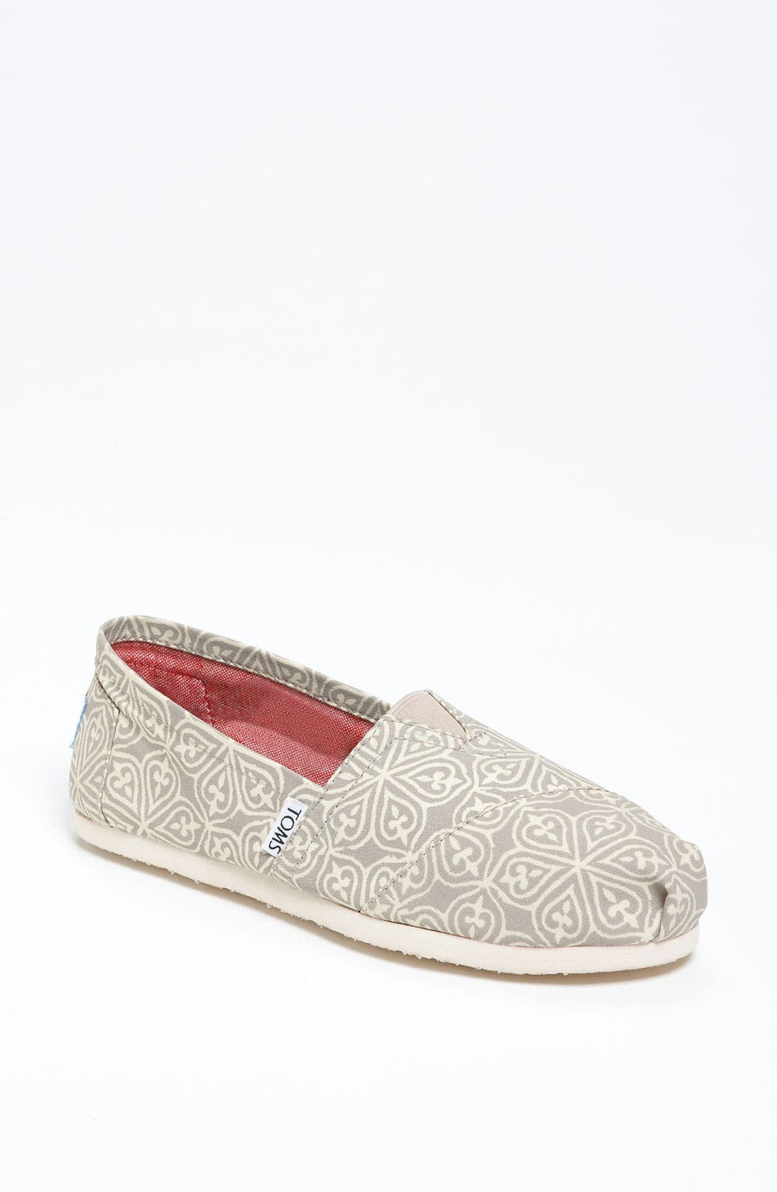 Alternate Image 1 Selected - TOMS 'Classic - Circle' Slip-On (Women)