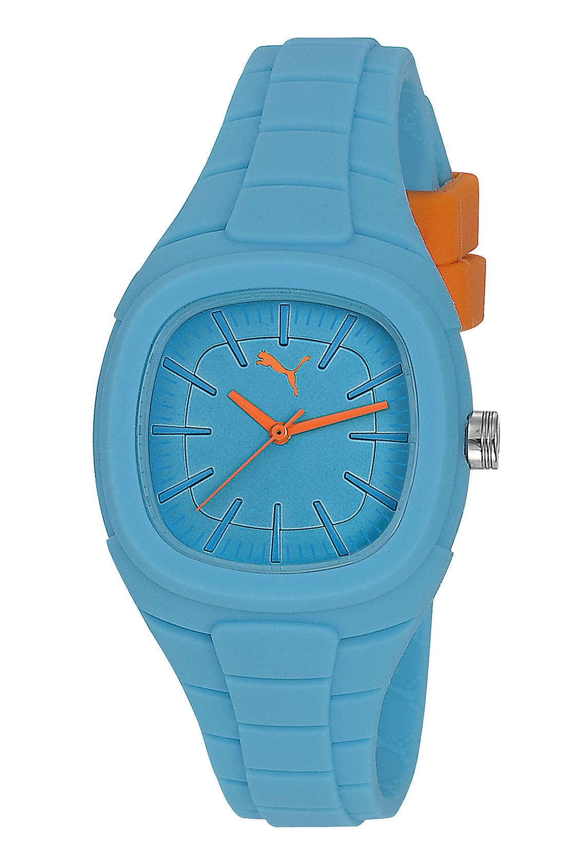 Main Image - PUMA 'Bubblegum - Small' Silicone Watch, 32mm x 36mm