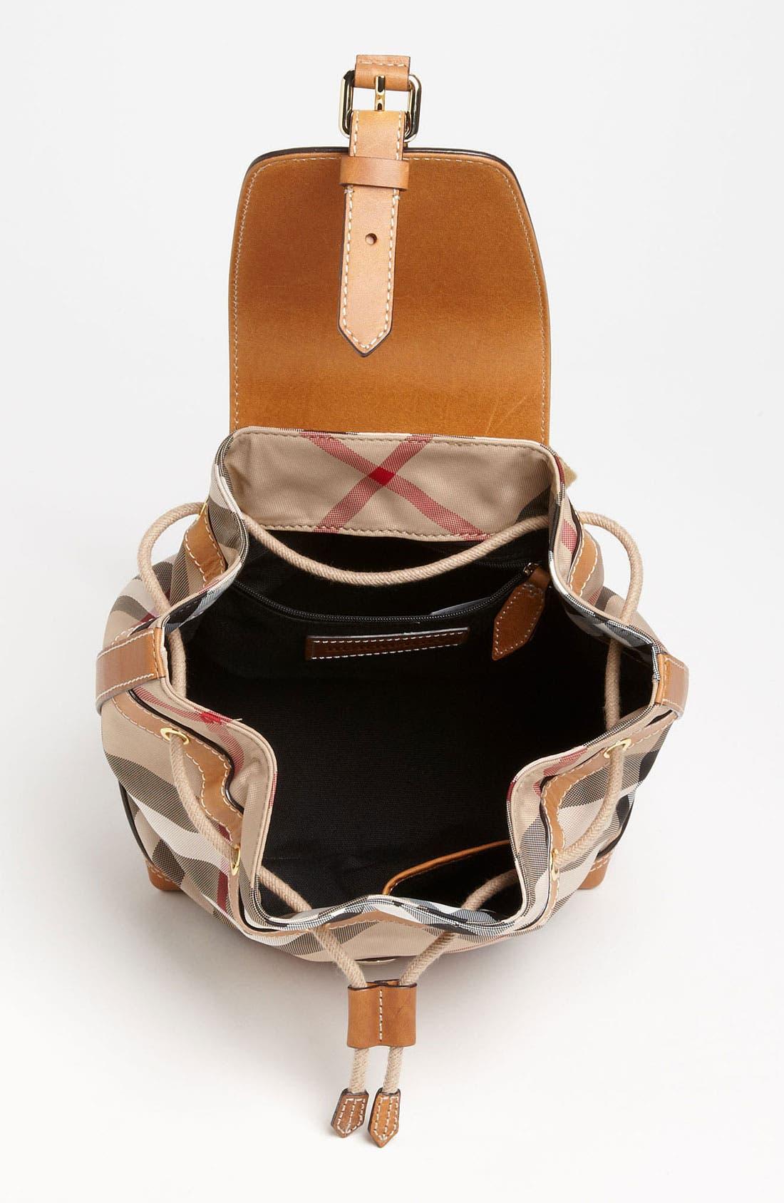 Alternate Image 3  - Burberry 'Dennis - Small' Backpack (Girls)