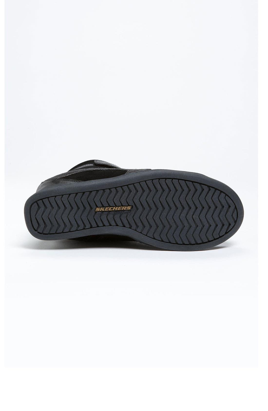 Alternate Image 4  - SKECHERS 'Three Booster' Wedge Sneaker (Women)