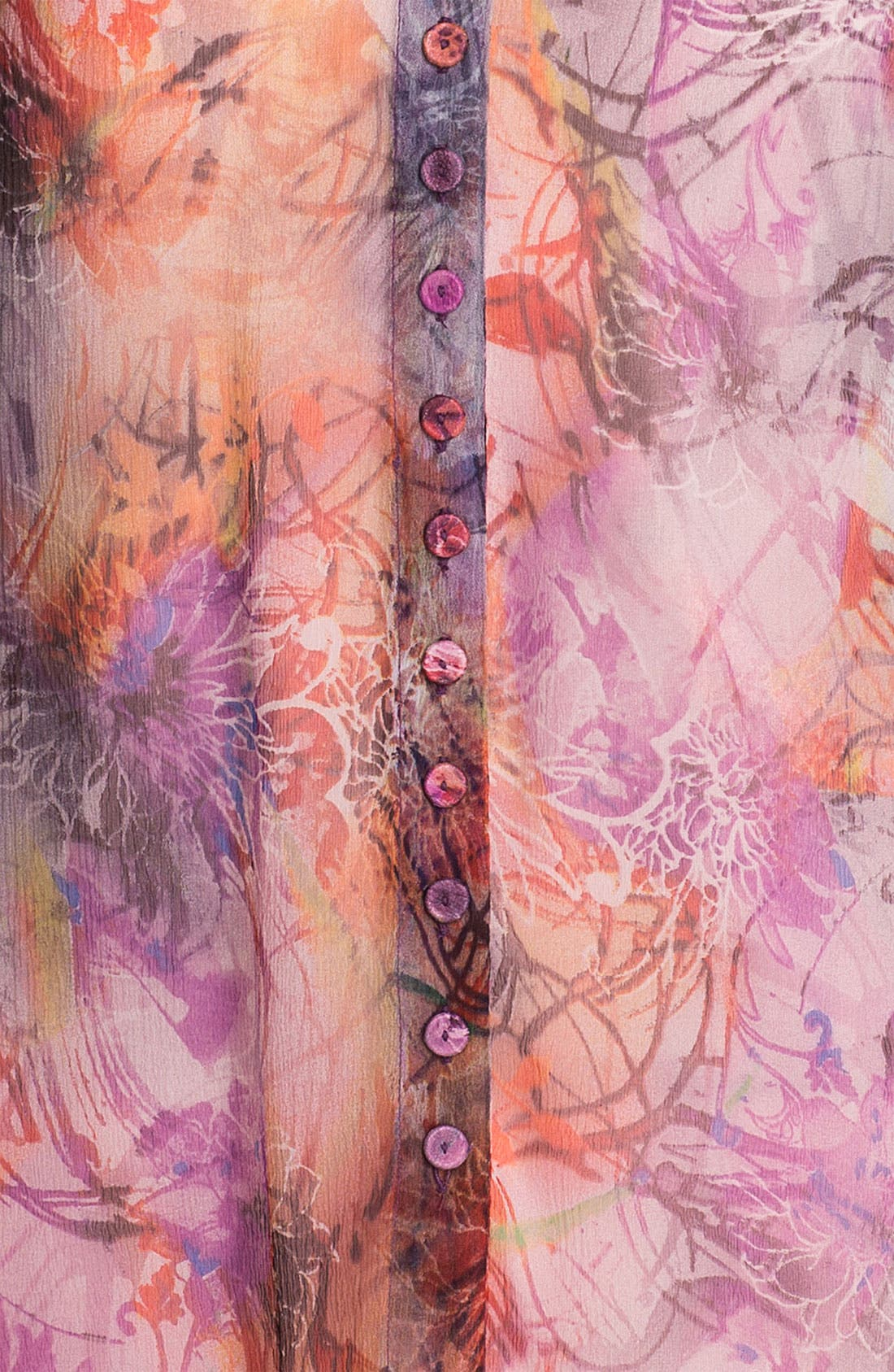 Alternate Image 3  - Casual Studio Sheer V-Neck Blouse (Nordstrom Exclusive)