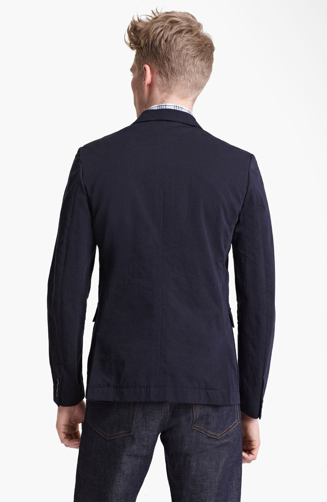 Alternate Image 2  - Band of Outsiders Cotton Blazer