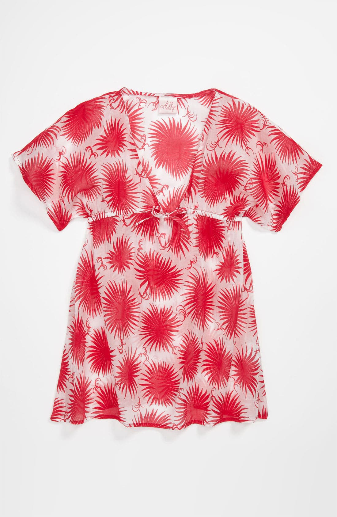 Main Image - Milly Minis V-Neck Cover-Up (Little Girls & Big Girls)