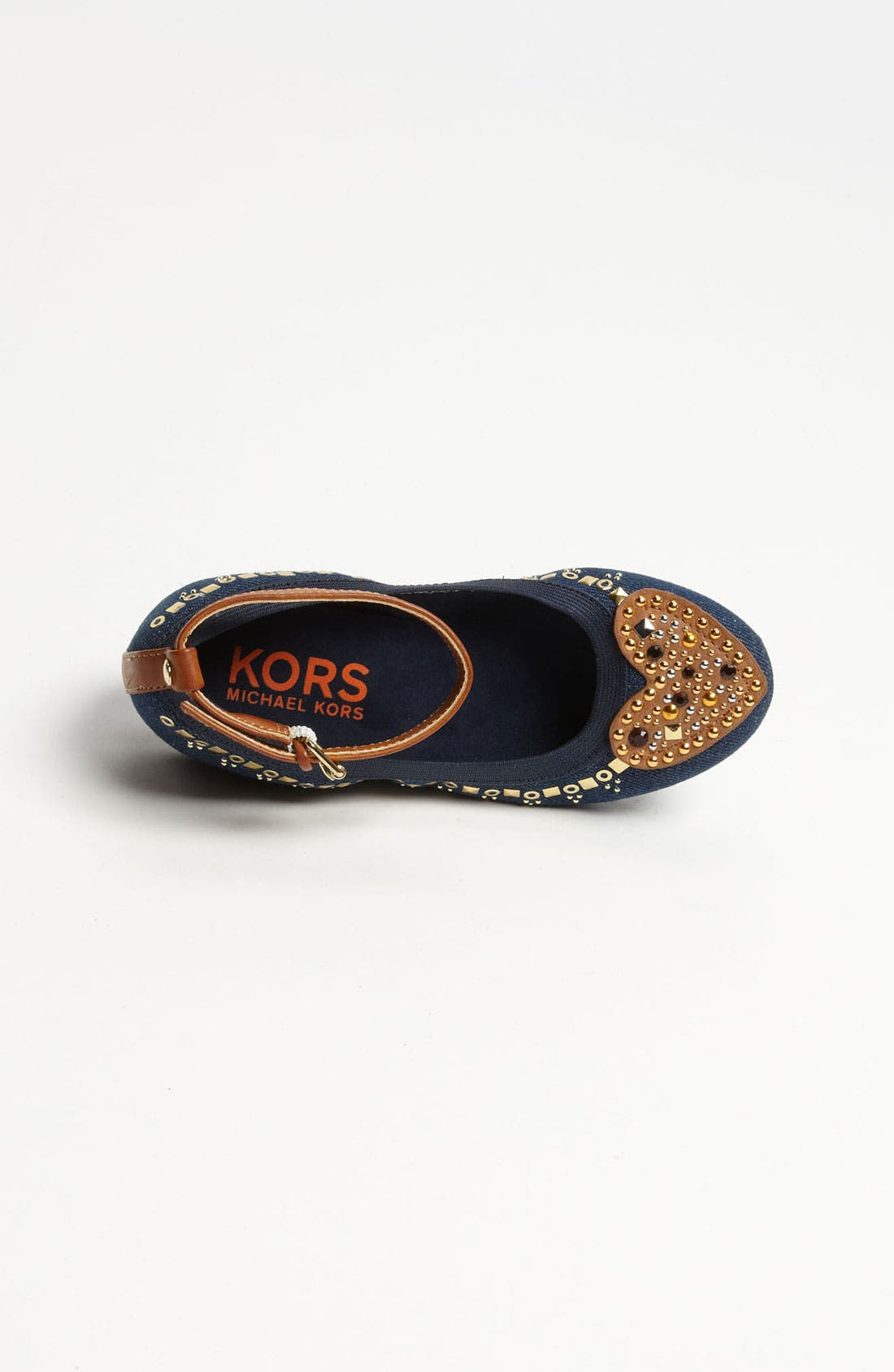 Alternate Image 3  - KORS Michael Kors 'Lichen' Flat (Little Kid & Big Kid)