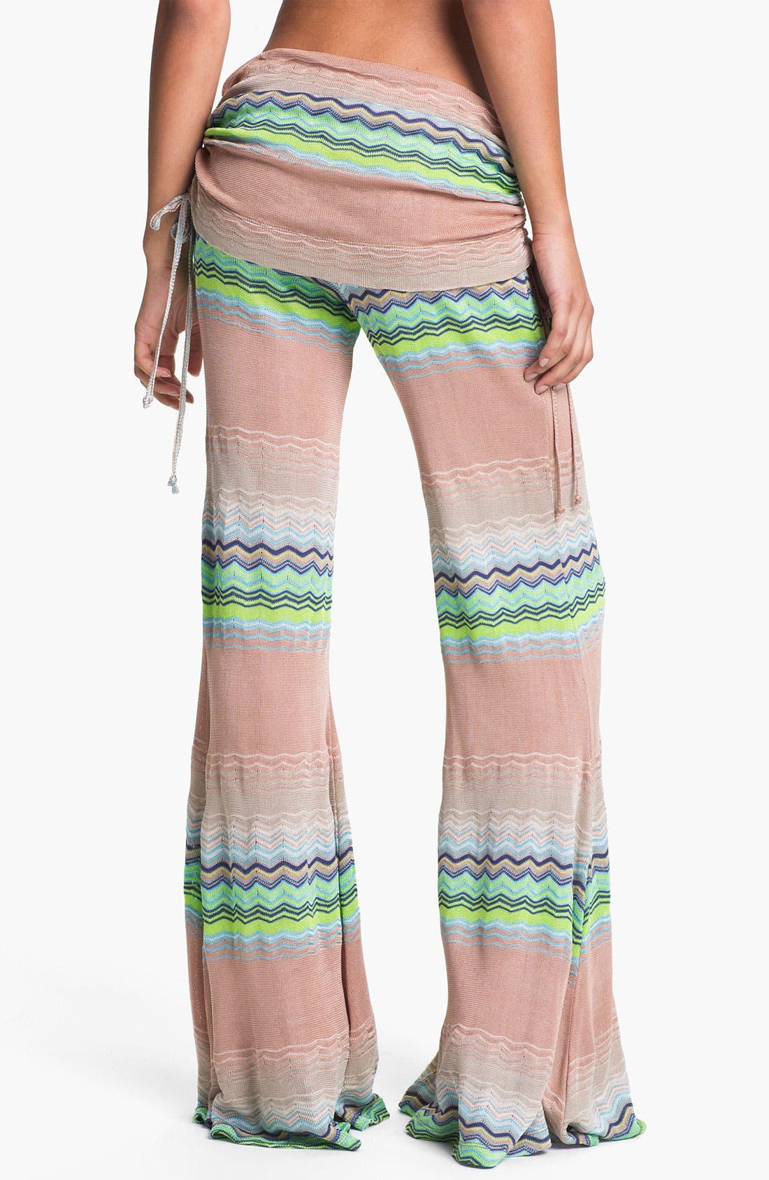 Alternate Image 2  - Young, Fabulous & Broke 'Sierra' Zigzag Wide Leg Pants