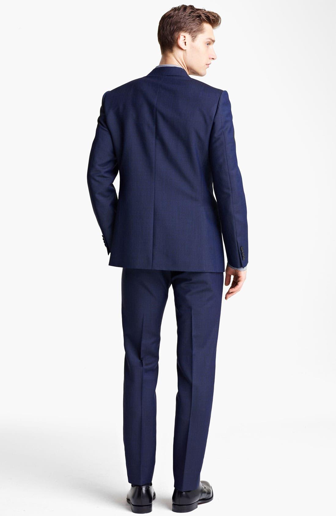 Alternate Image 3  - Z Zegna Trim Fit Wool Blend Suit
