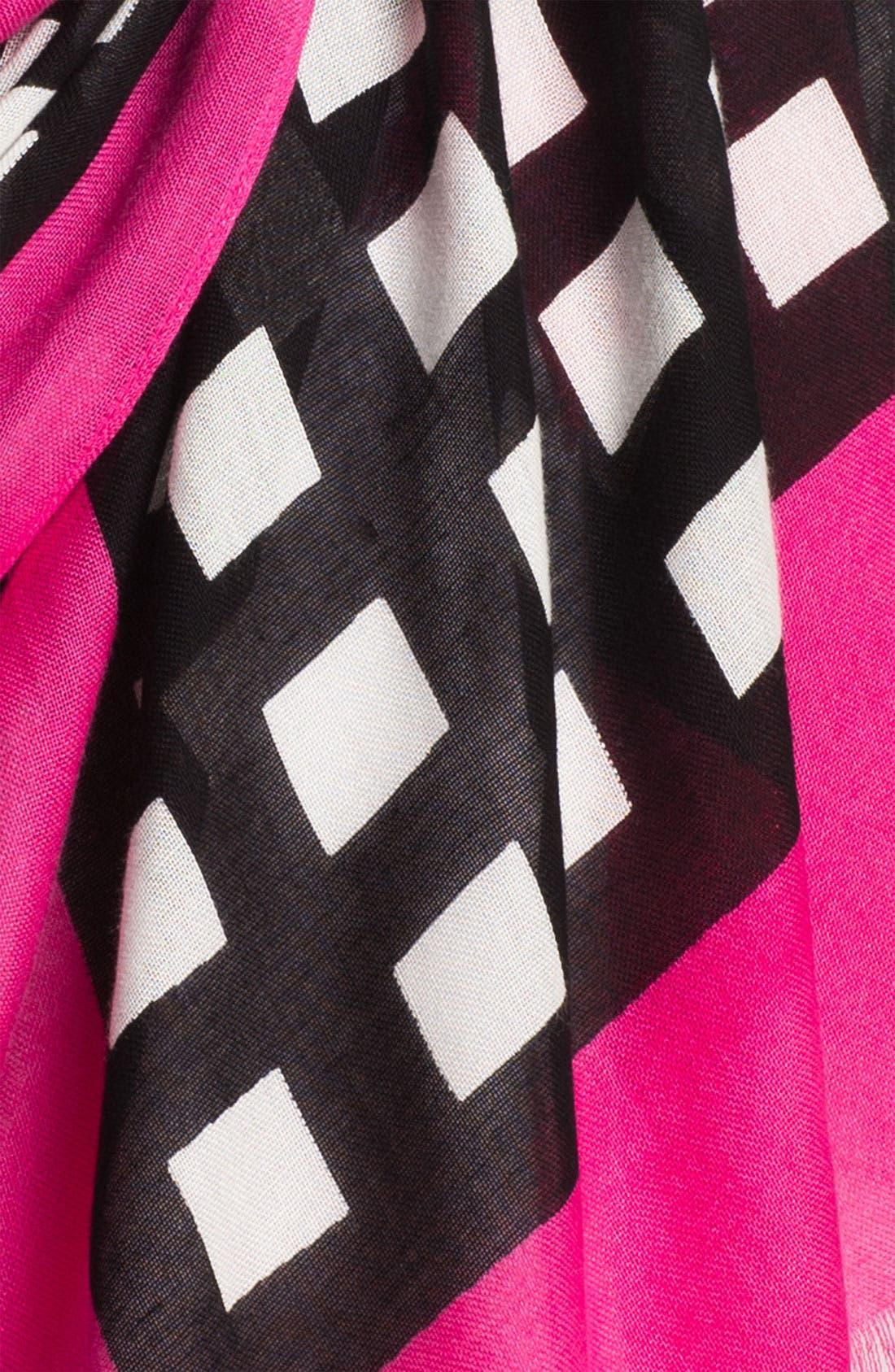 Alternate Image 2  - kate spade new york 'pop art' scarf