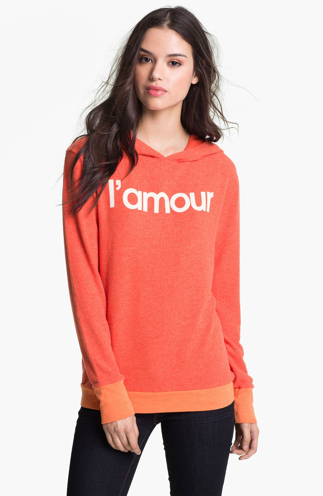 Alternate Image 1 Selected - Wildfox 'L'Amour' Graphic Hoodie