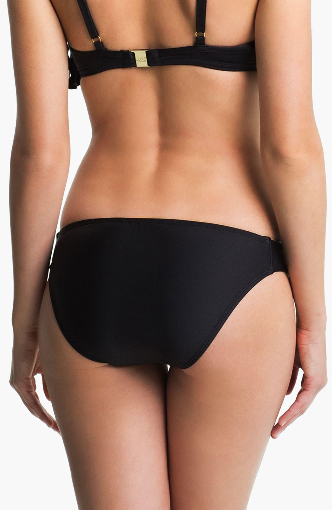 Alternate Image 2  - Luxe by Lisa Vogel Tab Side Bikini Bottoms
