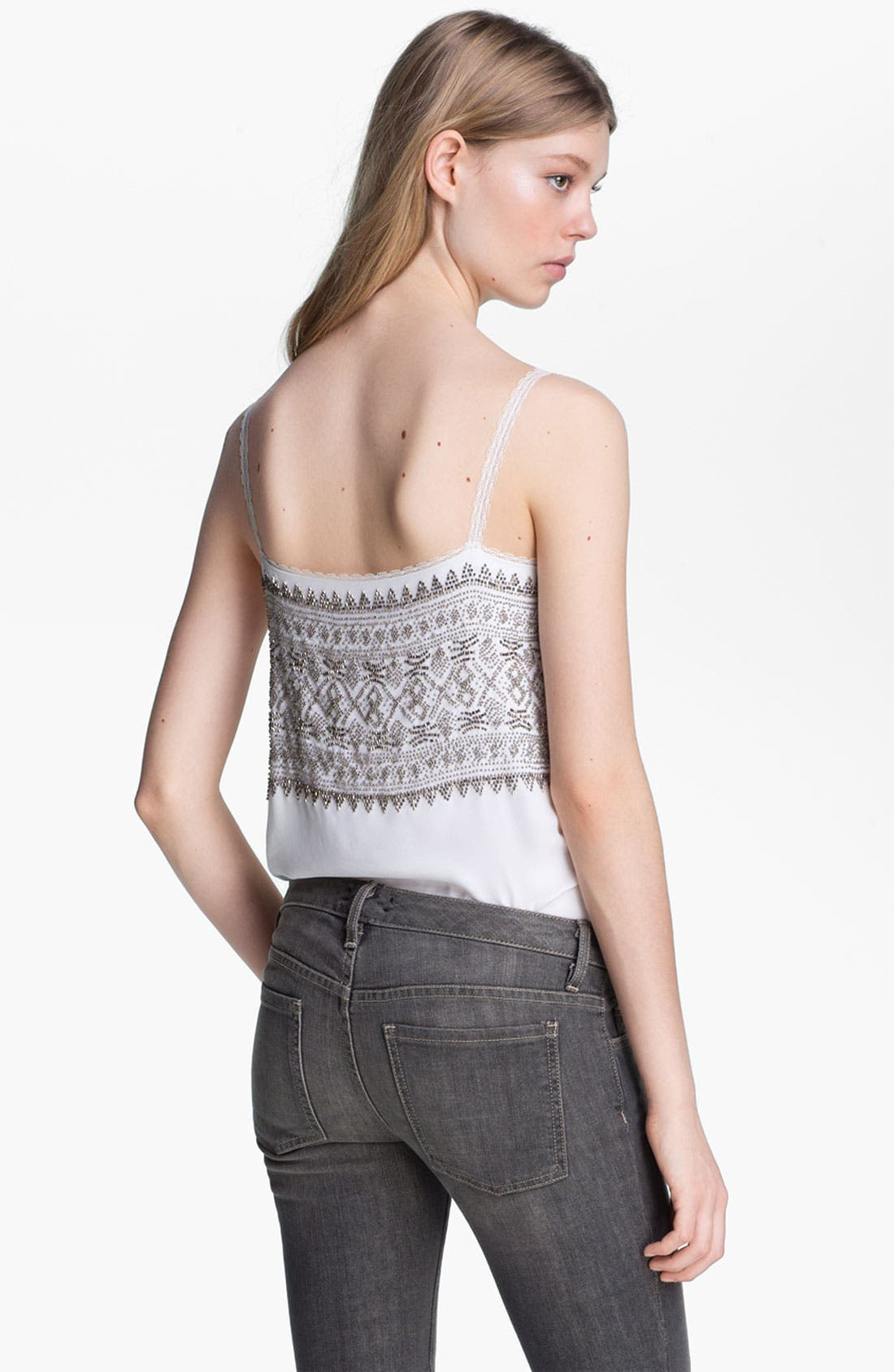 Alternate Image 3  - L'AGENCE Beaded Camisole