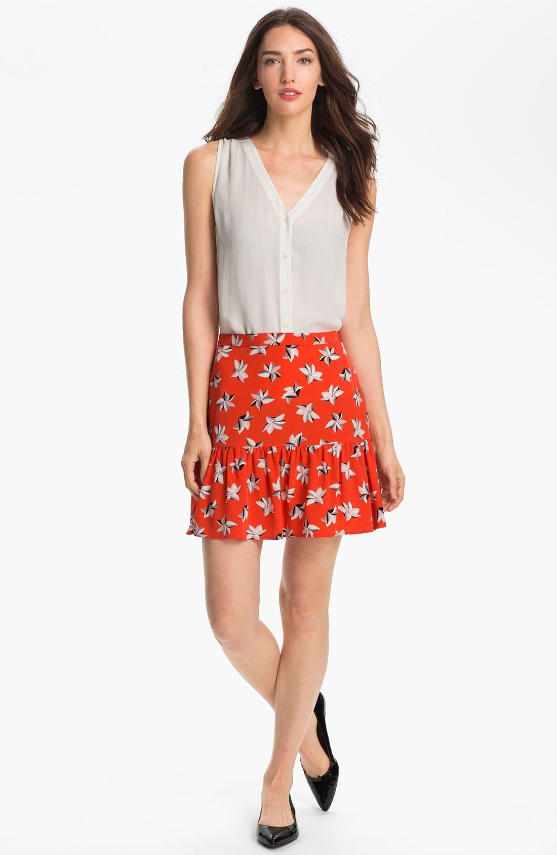 Alternate Image 4  - Joie 'Sisily' Silk Skirt