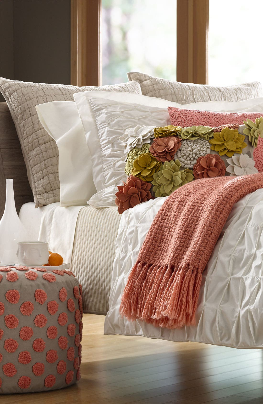 Alternate Image 2  - Nordstrom at Home Overlay Pillow Cover