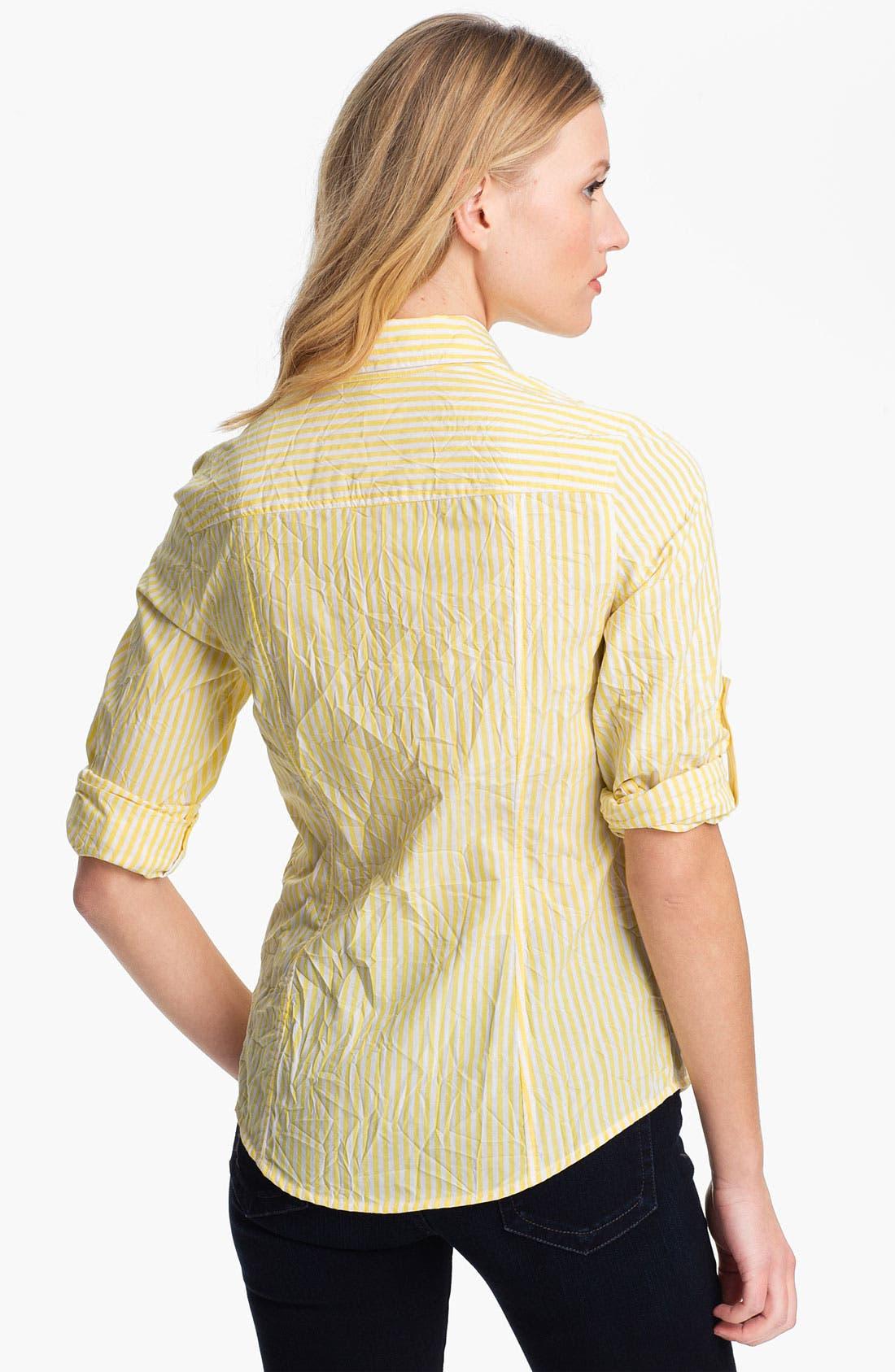 Alternate Image 2  - MICHAEL Michael Kors Stripe Shirt
