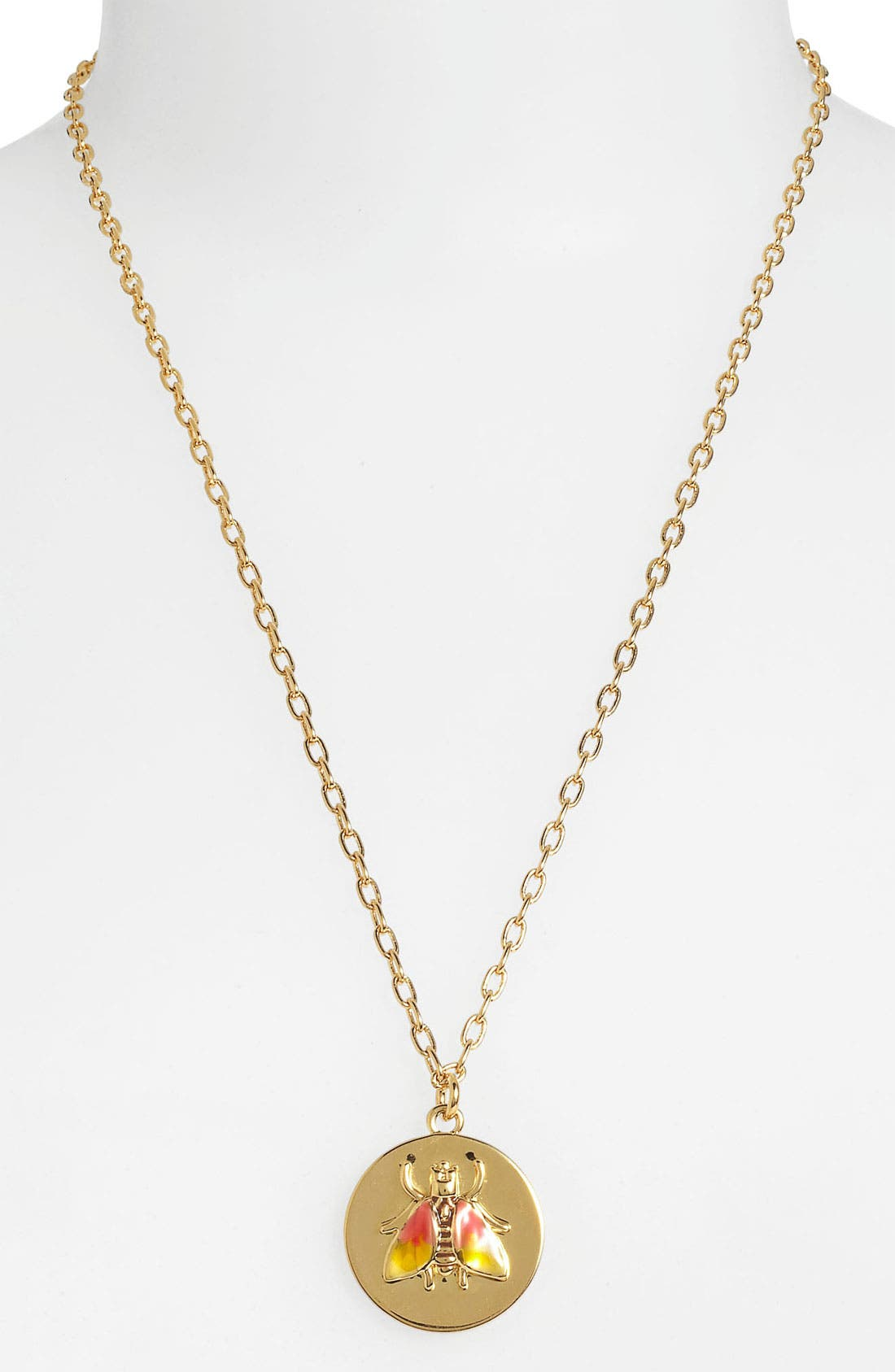 Alternate Image 2  - Tory Burch 'Buddy' Pendant Necklace